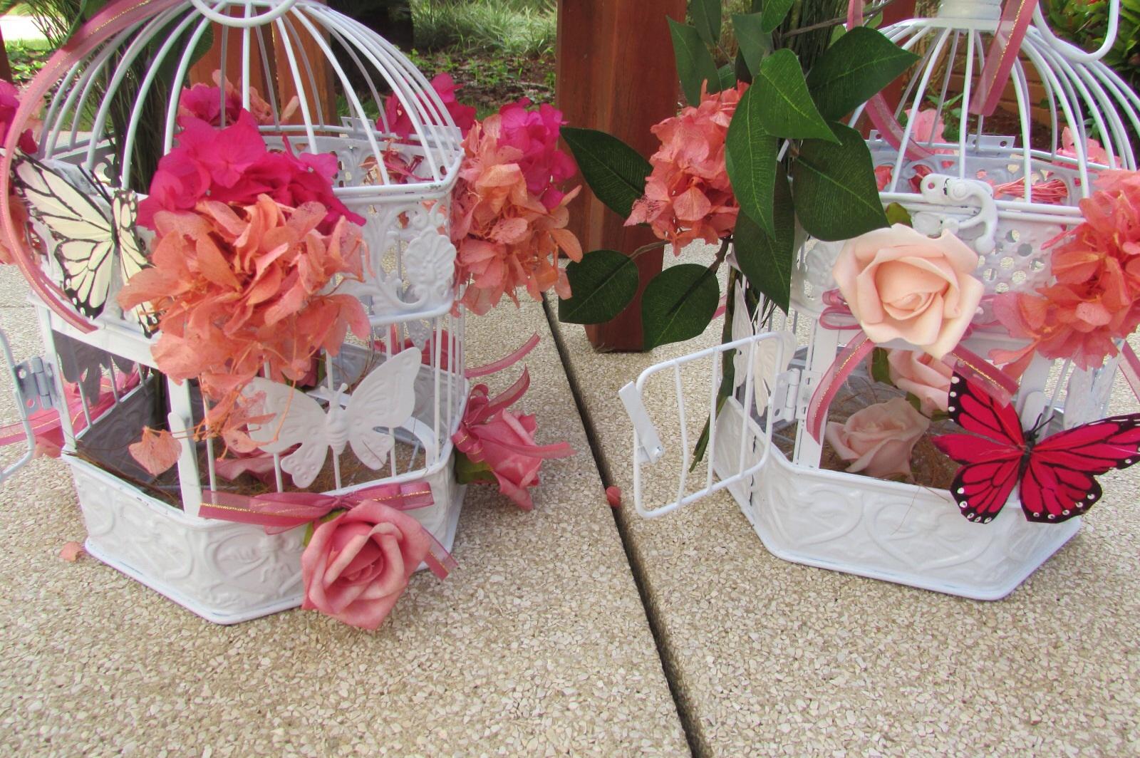 festa jardim rustica:festa jardim encantado rosa e pink i gaiola provencal kit festa jardim