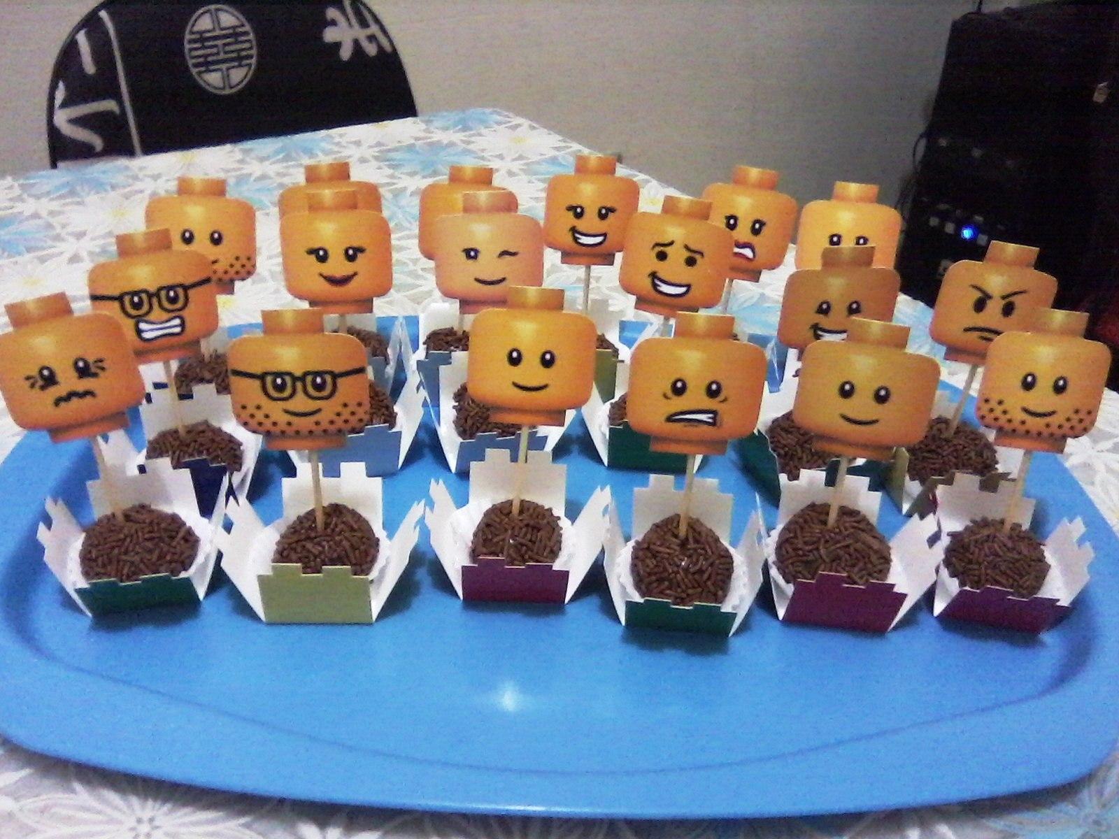 Festa impressa Aventura Lego  produzindo lembranças  Elo7