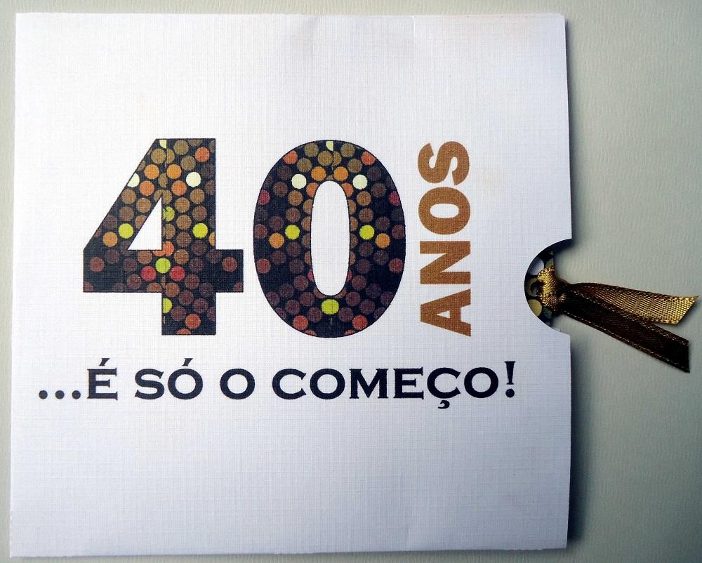Festa de Aniversario de 40 Anos Feminino Festa de 40 Anos   Elo7