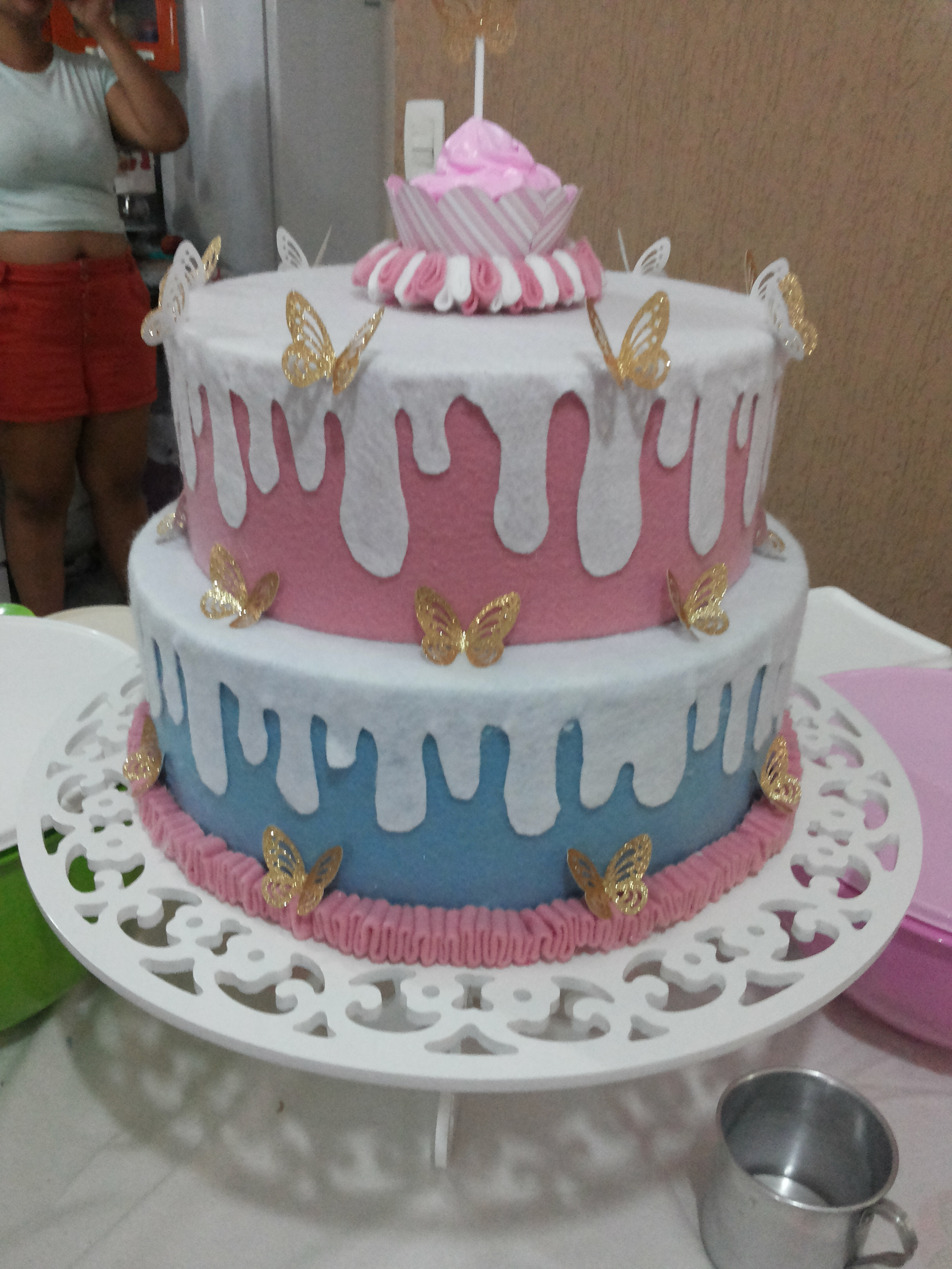 Resultado de imagem para bolo de feltro