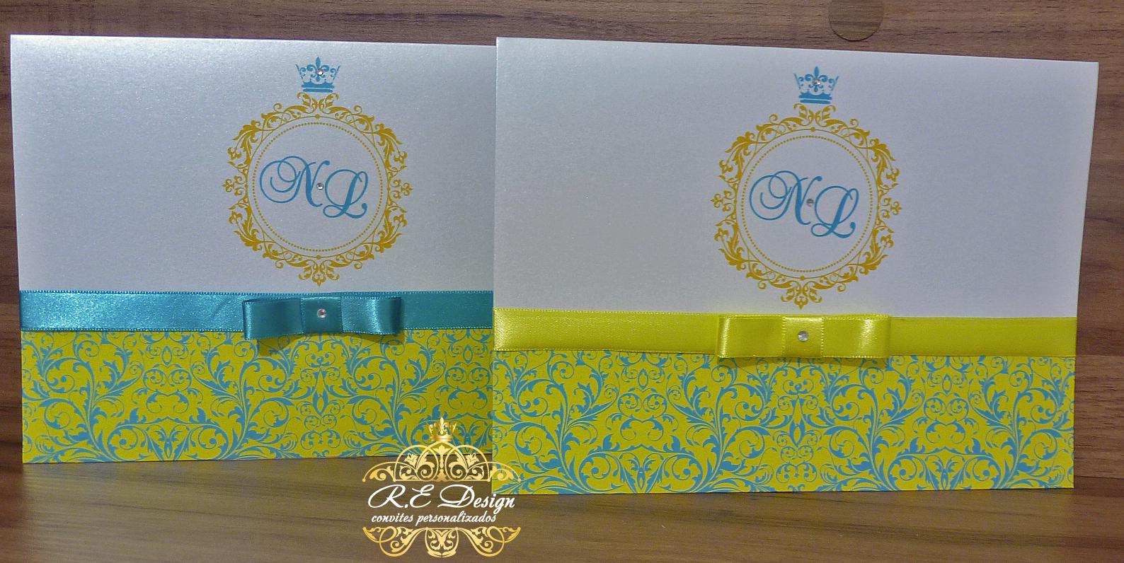 decoracao azul royal e amarelo casamento : decoracao azul royal e amarelo casamento:colecao-royal-casamento-convite-15-anos colecao-royal-casamento