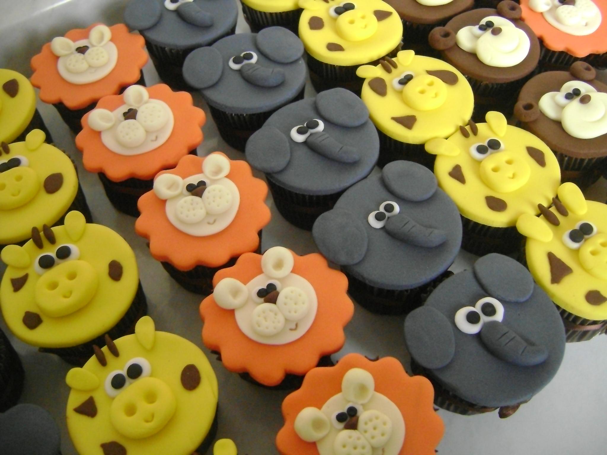 Cupcake safari decora 231 227 o plana del 237 cias elo7