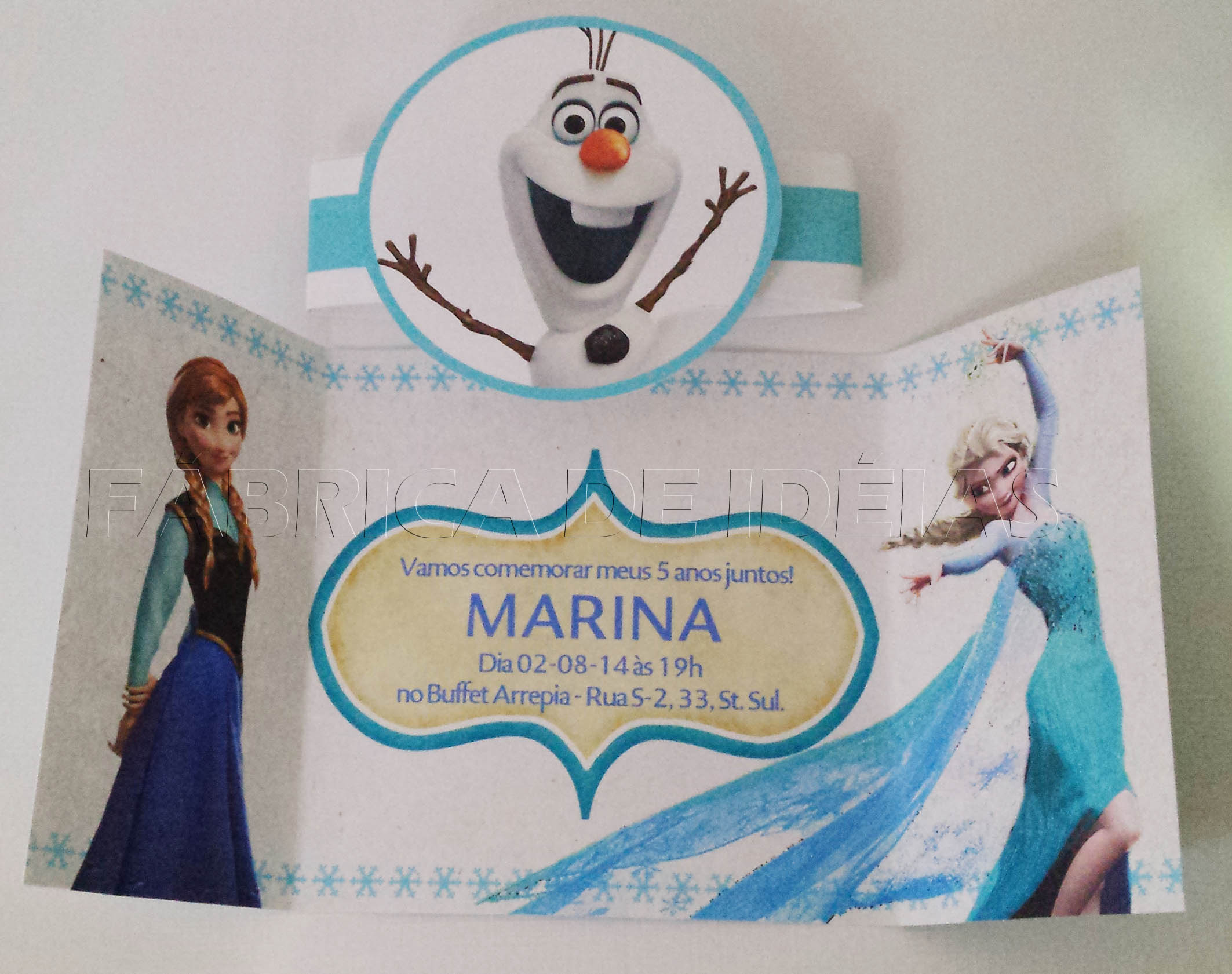 convite frozen em scrap convite personalizado frozen convite frozen em
