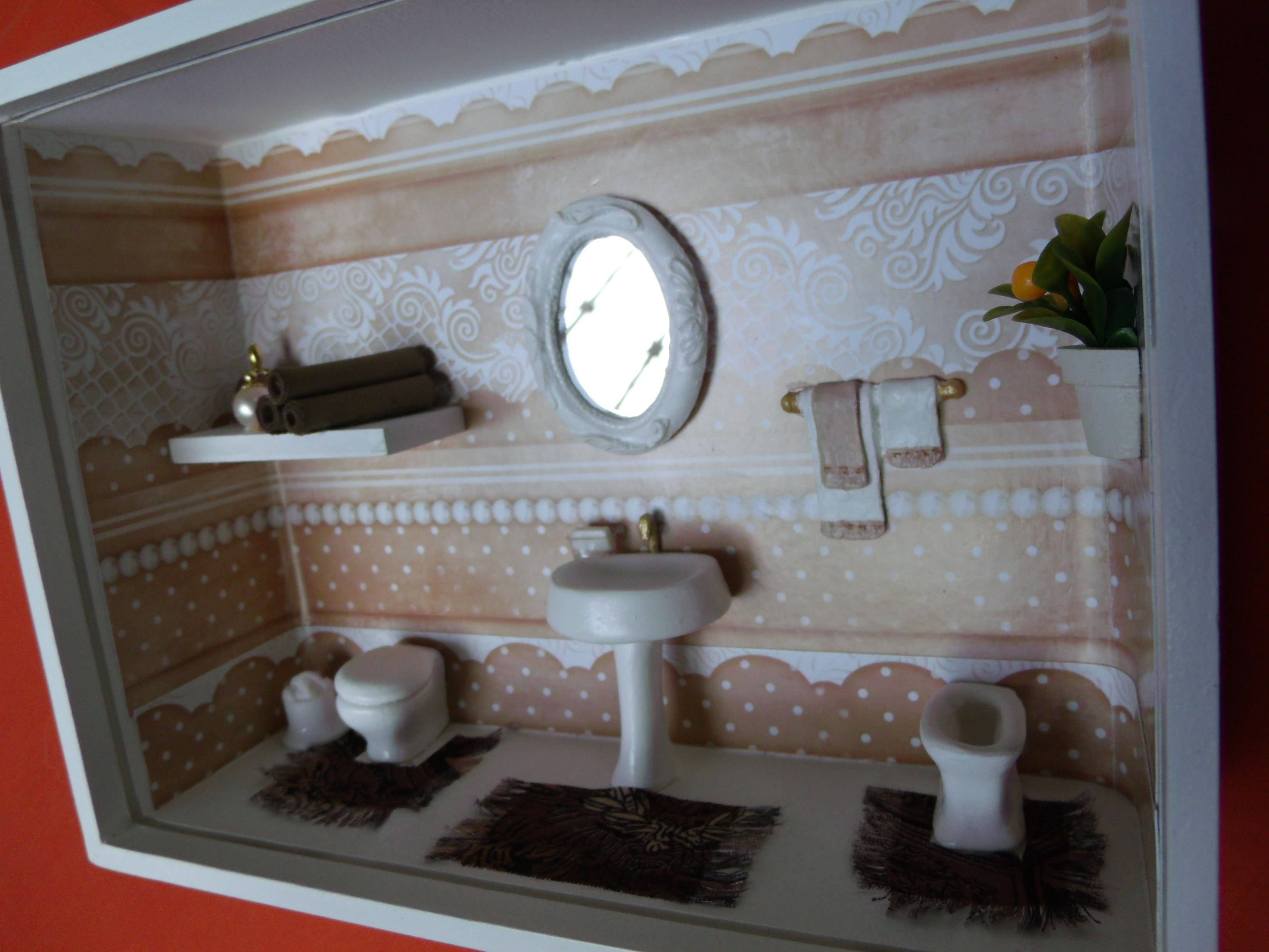 nicho de banheiro n 7 arte nicho de banheiro n 7 cenario para banheiro #7B3A2D 3264x2448 Banheiro Com Nicho Vermelho