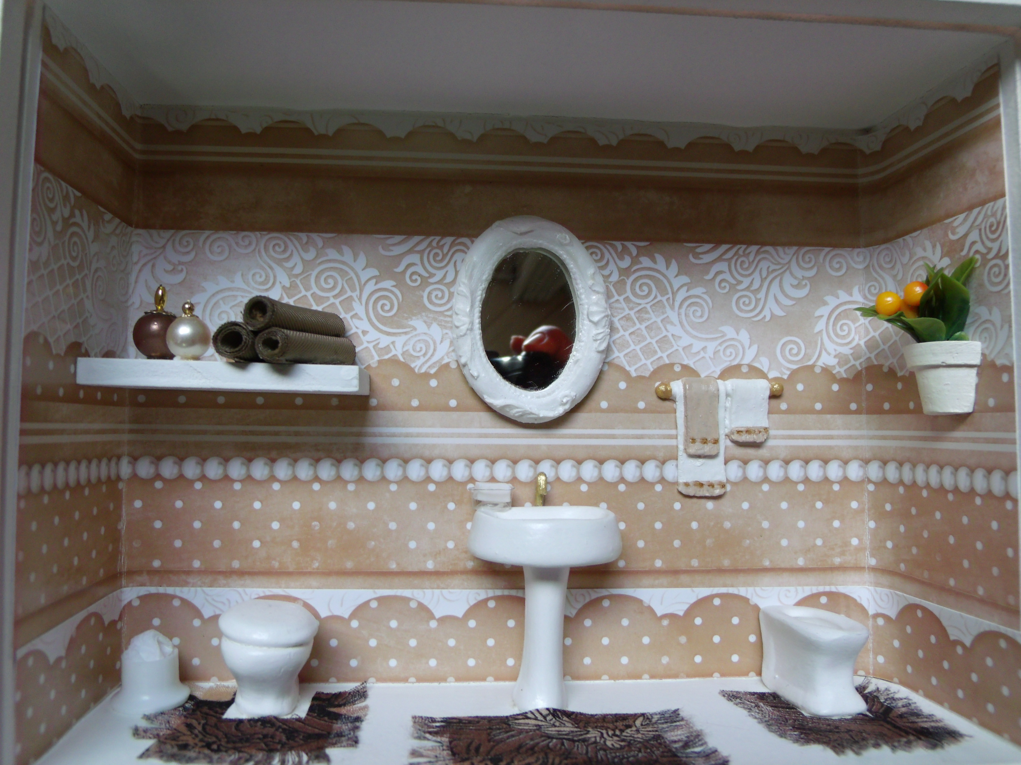 nicho de banheiro n 7 cenario para banheiro nicho de banheiro n 7 mdf #3F3428 3264x2448 Banheiro Com Nicho Como Fazer