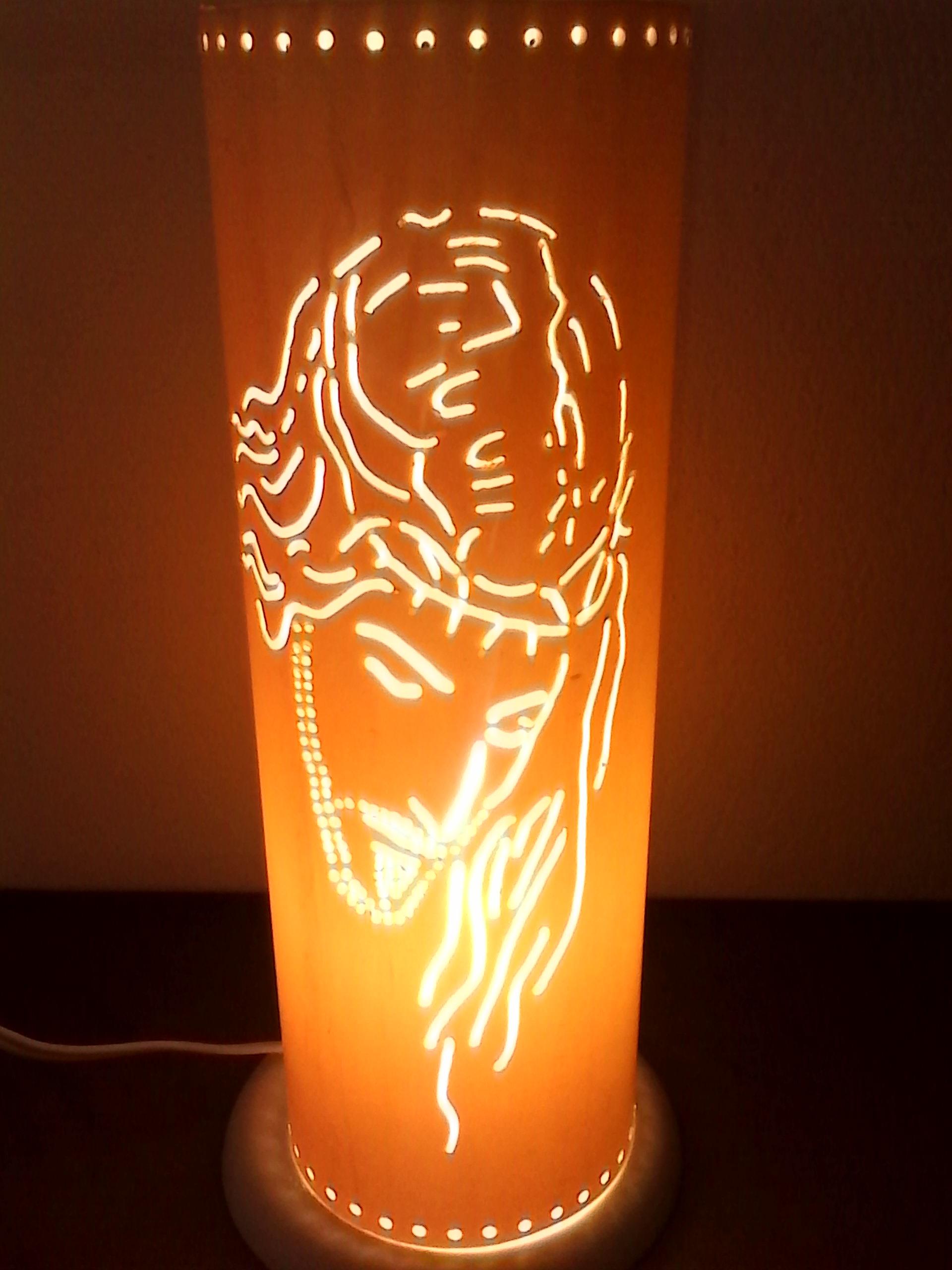 Artesanato Com Garrafa Pet Para Pascoa ~ Luminária em pvc Jesus MÃOS QUE PRODUZEM Elo7
