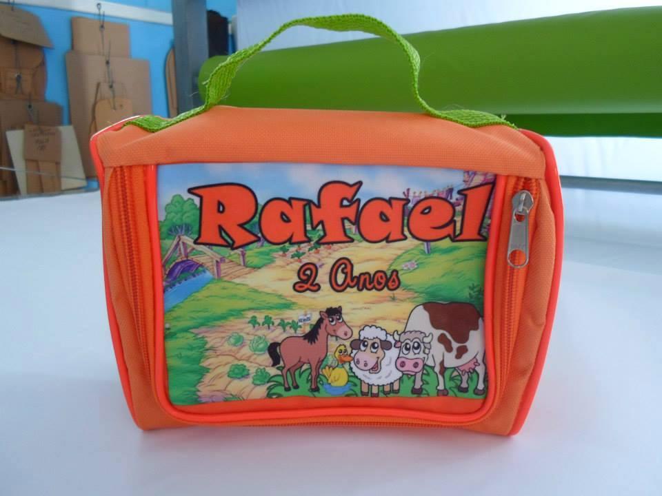Bolsa De Festa Infantil : Bolsa personalizada n?cessaire natura pimbolsas elo
