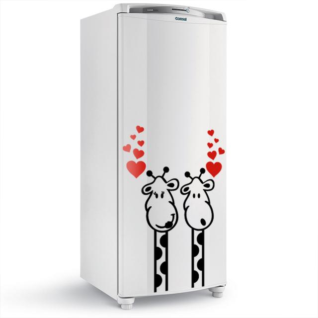 Adesivo De Geladeira Comprar ~ Adesivo de Parede Régua Medidora Girafa Elo7
