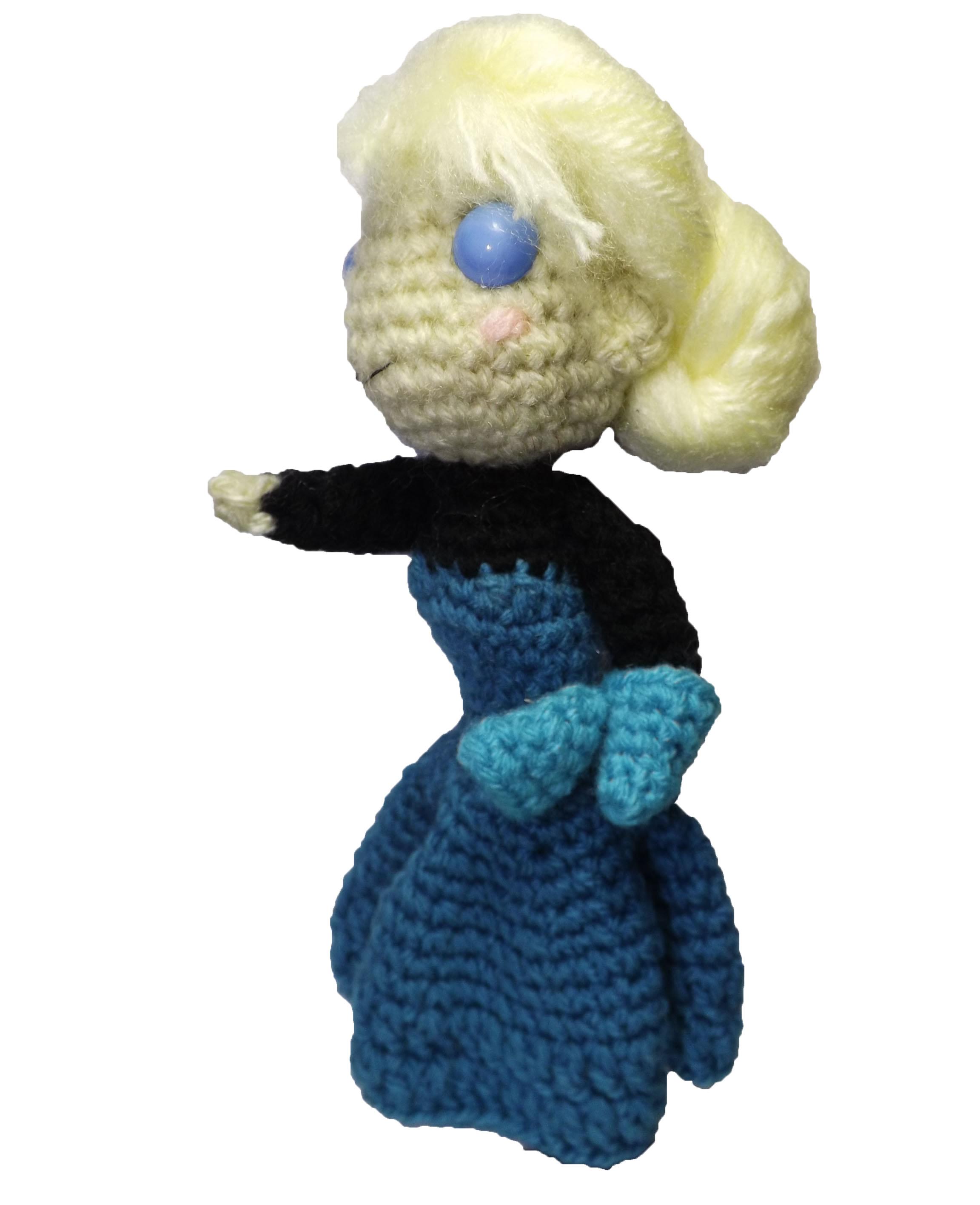 Amigurumi Elsa : Amigurumi Elsa Coroacao Frozen Disney Elo7