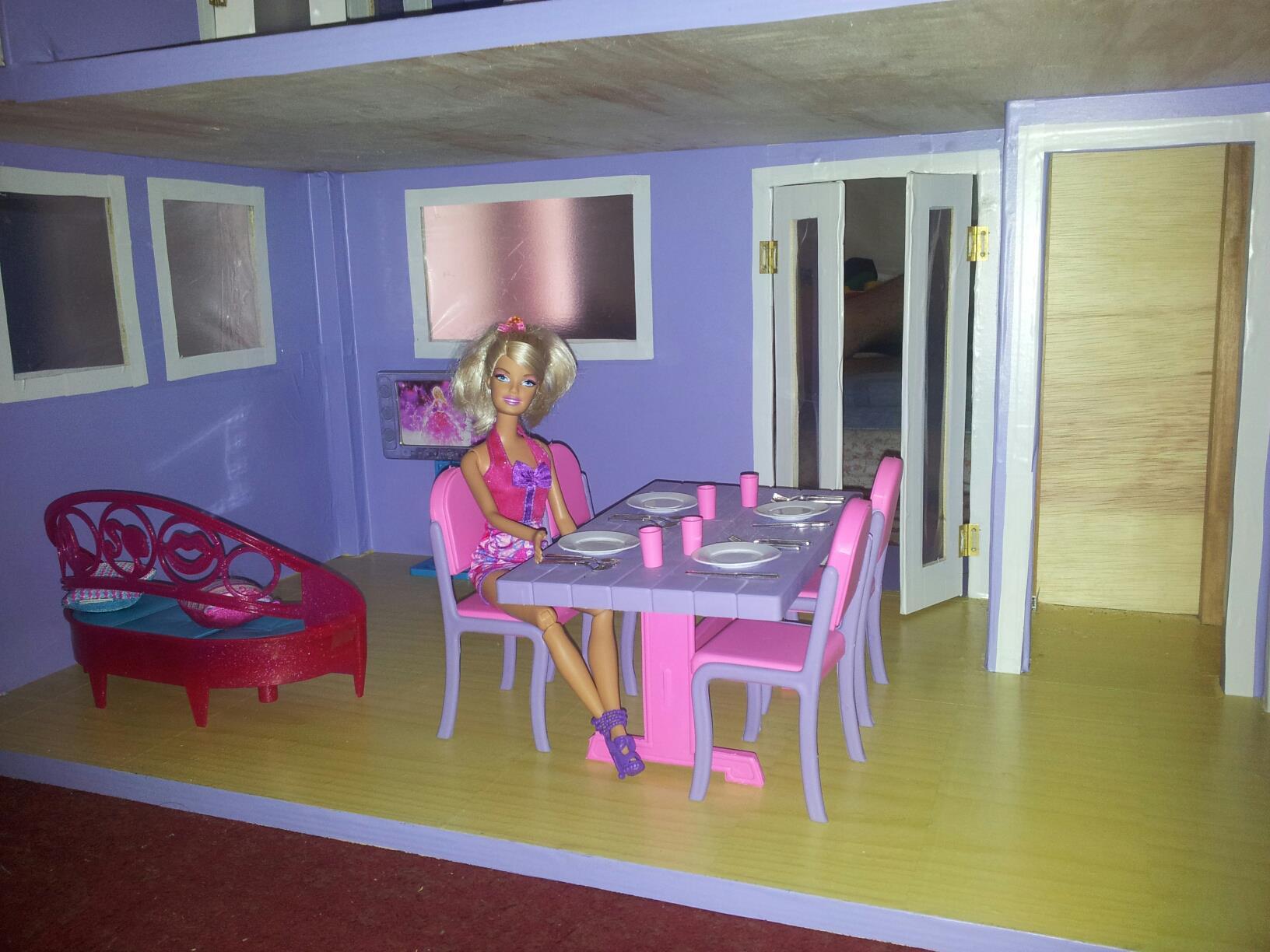 Pin De Bonecas Para Barbie Casinhas De Bonecas Para Barbie Casinhas De  #652E34 1632x1224