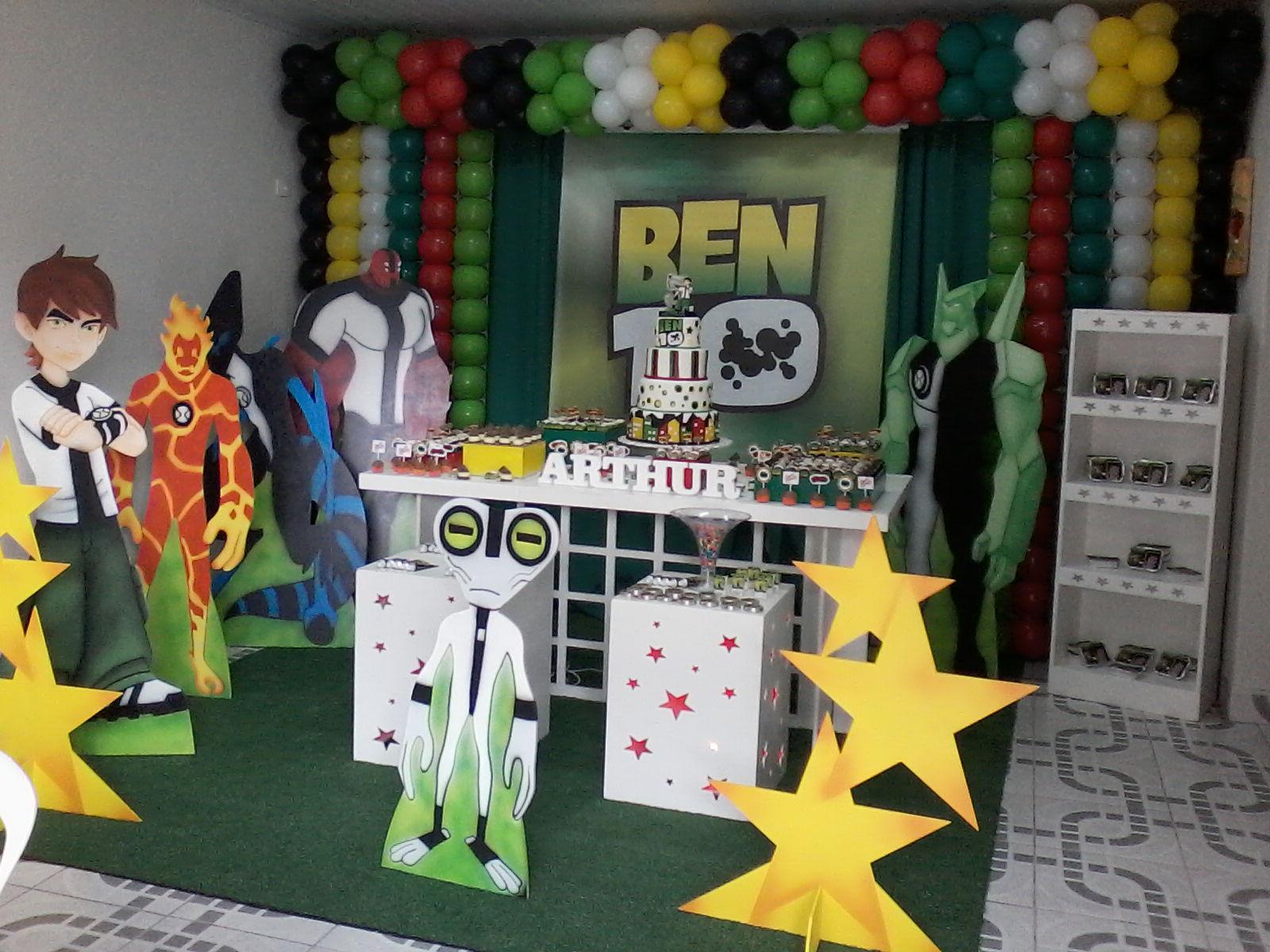 decoracao festa ben 10 decoracao festa infantil ben 10 decoracao festa