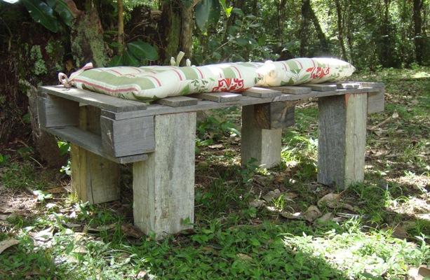 banco de jardim rustico : banco de jardim rustico:Banco de Jardim mod 02