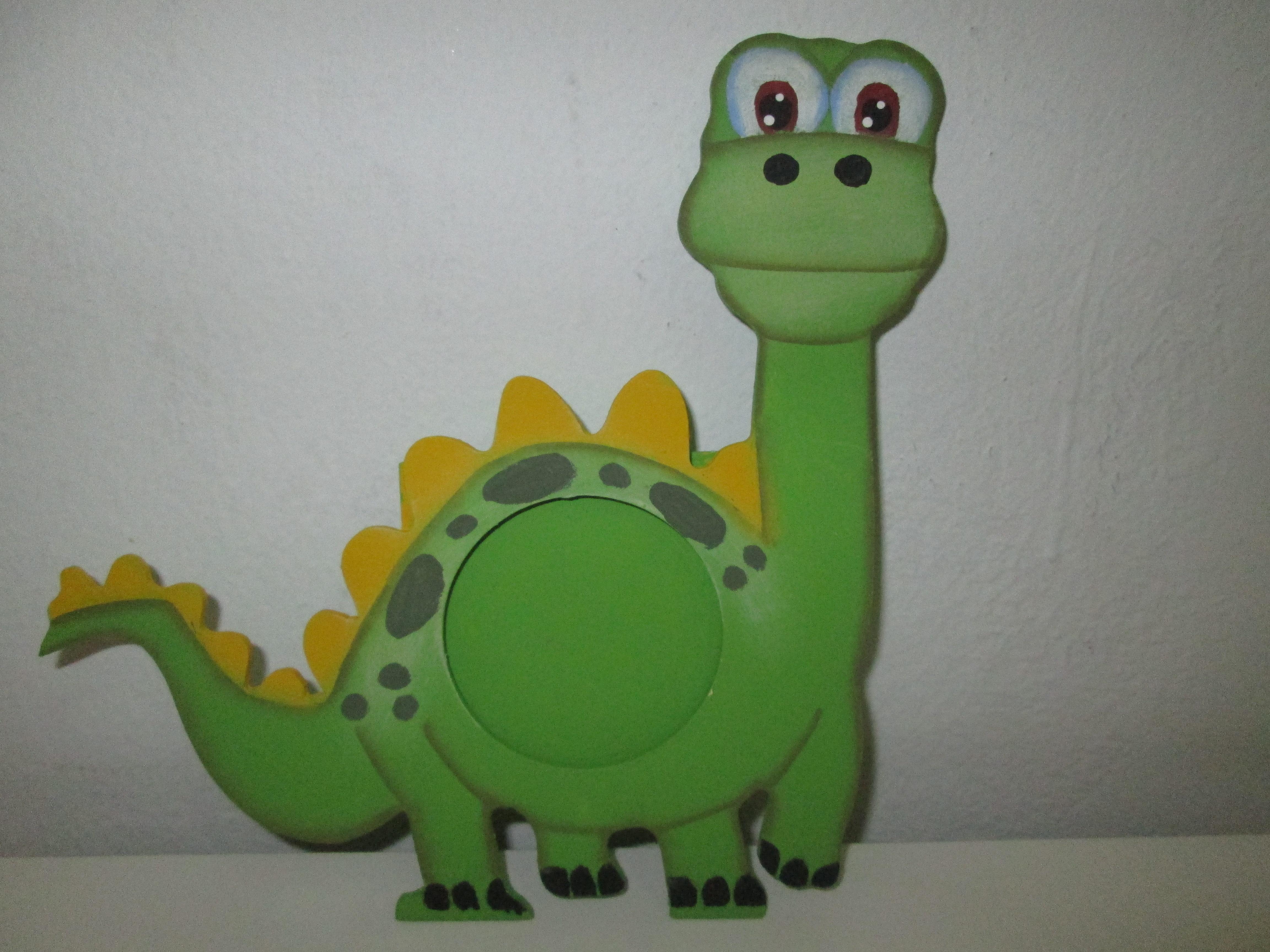 Lembrancinhas porta retrato dinossauro art s pathy elo7 - Percheros infantiles de pared ...