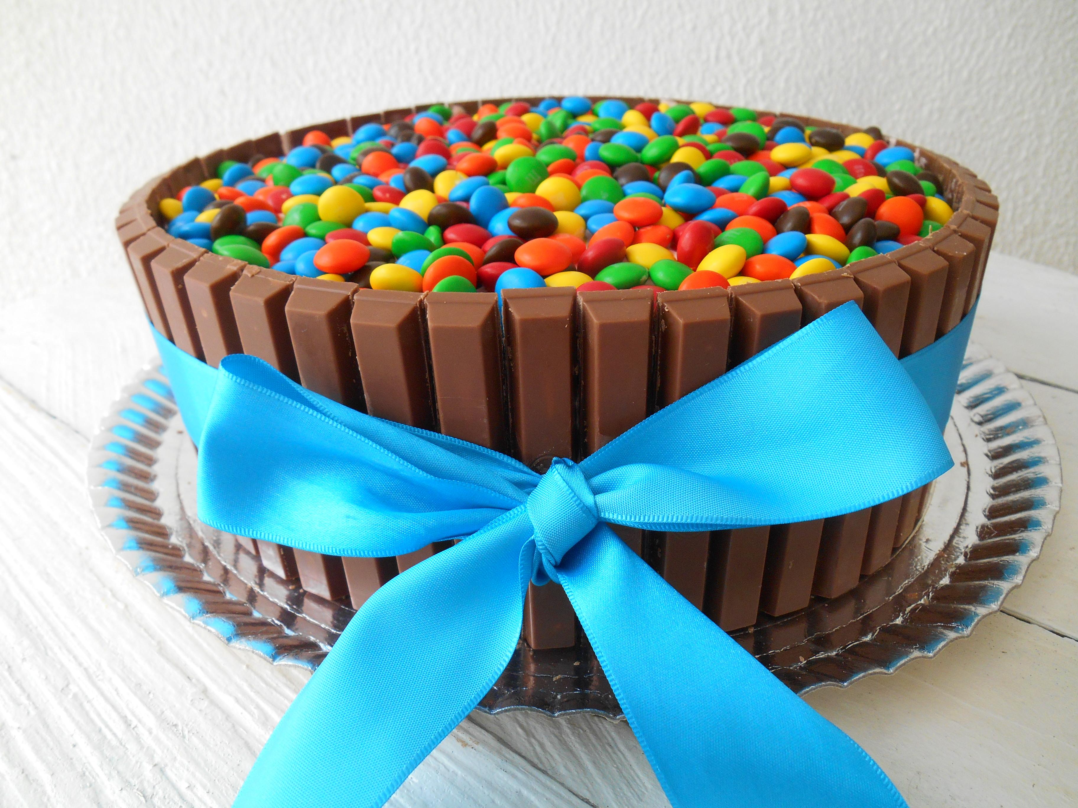 Рецепт торта с ммдемс и кит кат