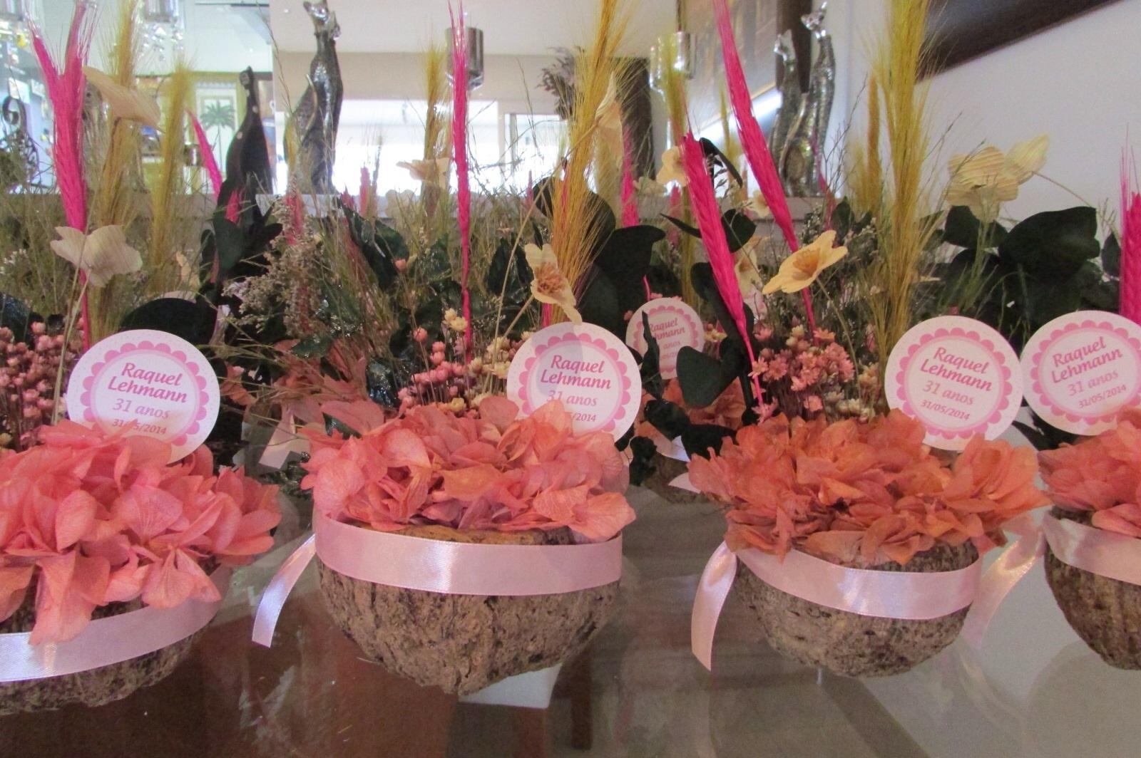 decoracao jardim encantado rustico:kit festa completa flores secas