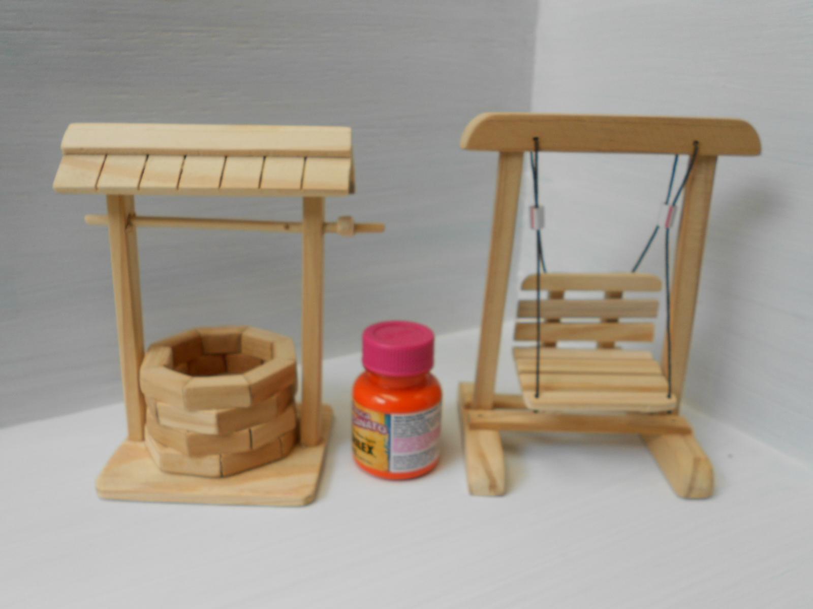poco e balanco miniatura kit miniatura poco e balanco brinquedo #B23219 1600x1200