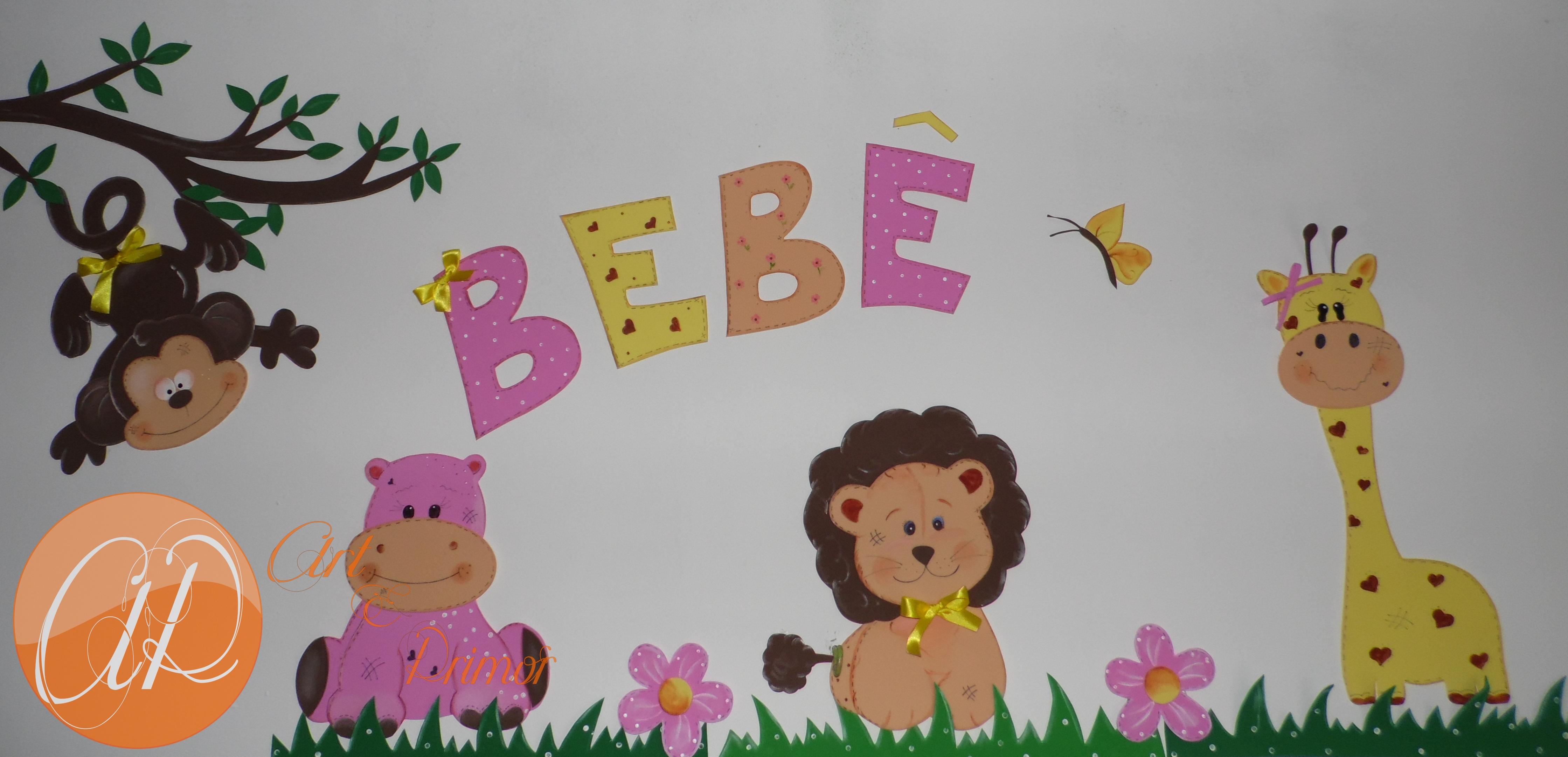Enfeites Para Quarto De Bebe De Eva ~ enfeite quarto de bebe safari aplique de eva safari enfeite quarto de