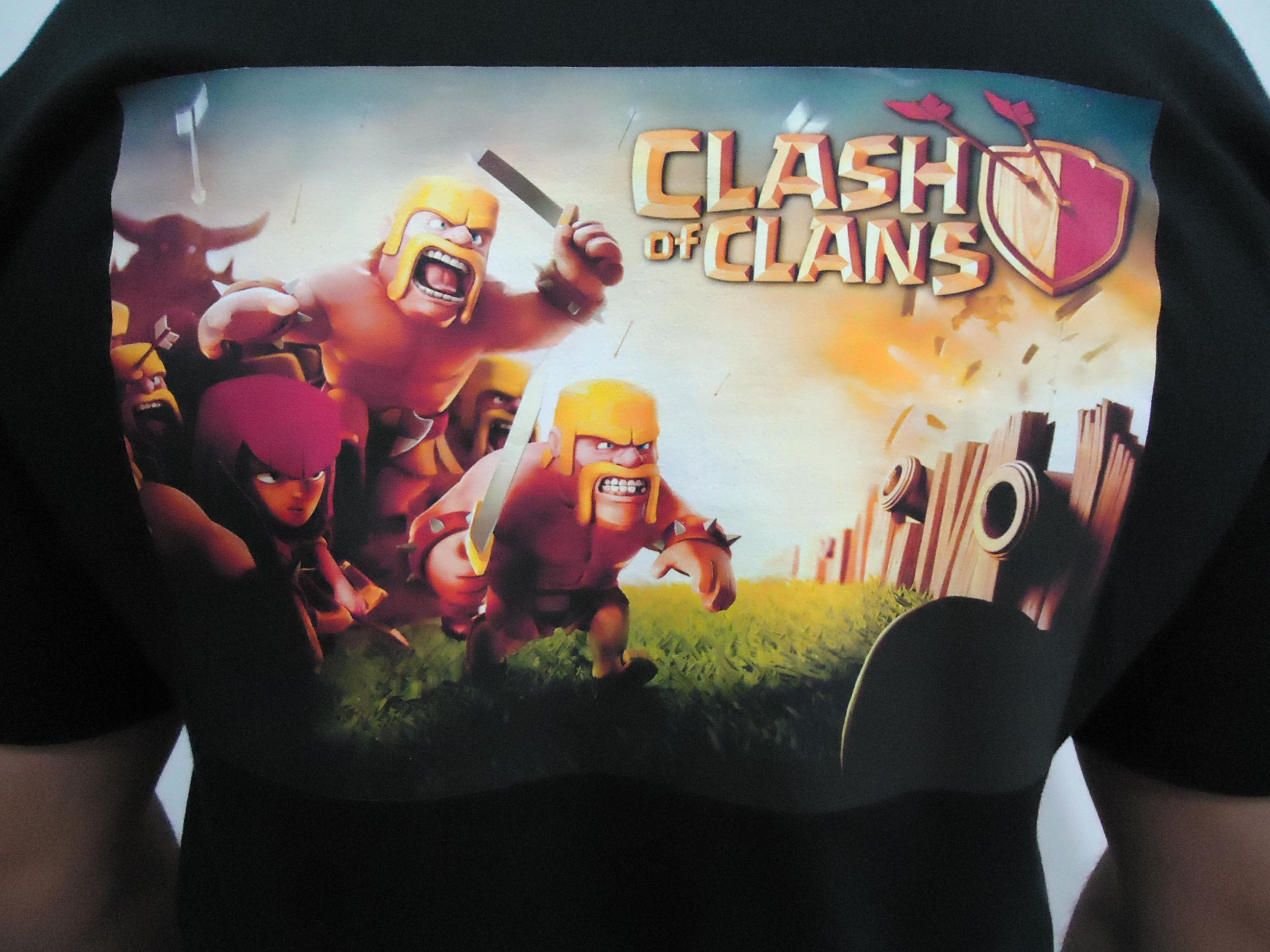 Clash of Clans Camiseta Clash of Clans Camiseta Clash of Clans