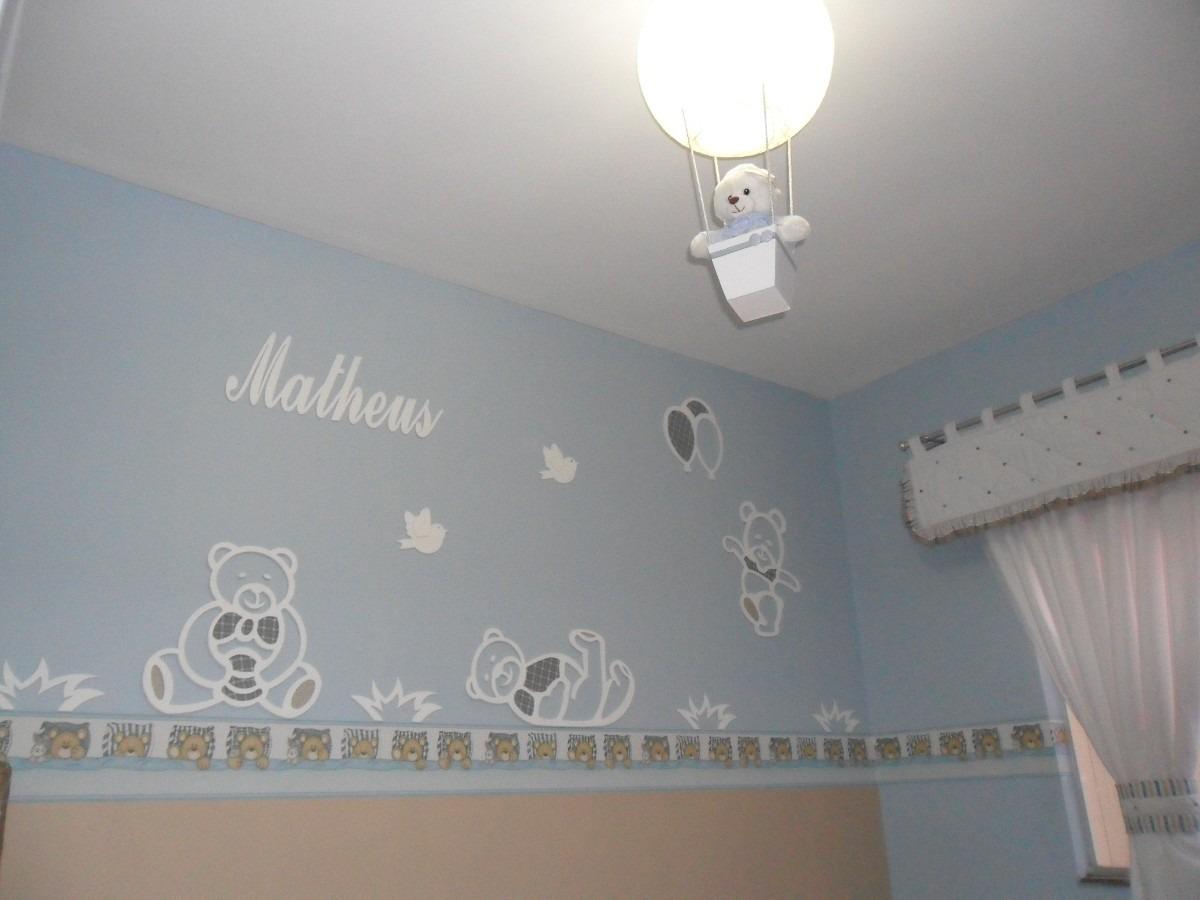 Painel Ursinhos 10 peças com tecido LAGARTIXA  ~ Adesivos De Parede Para Quarto De Bebe Urso