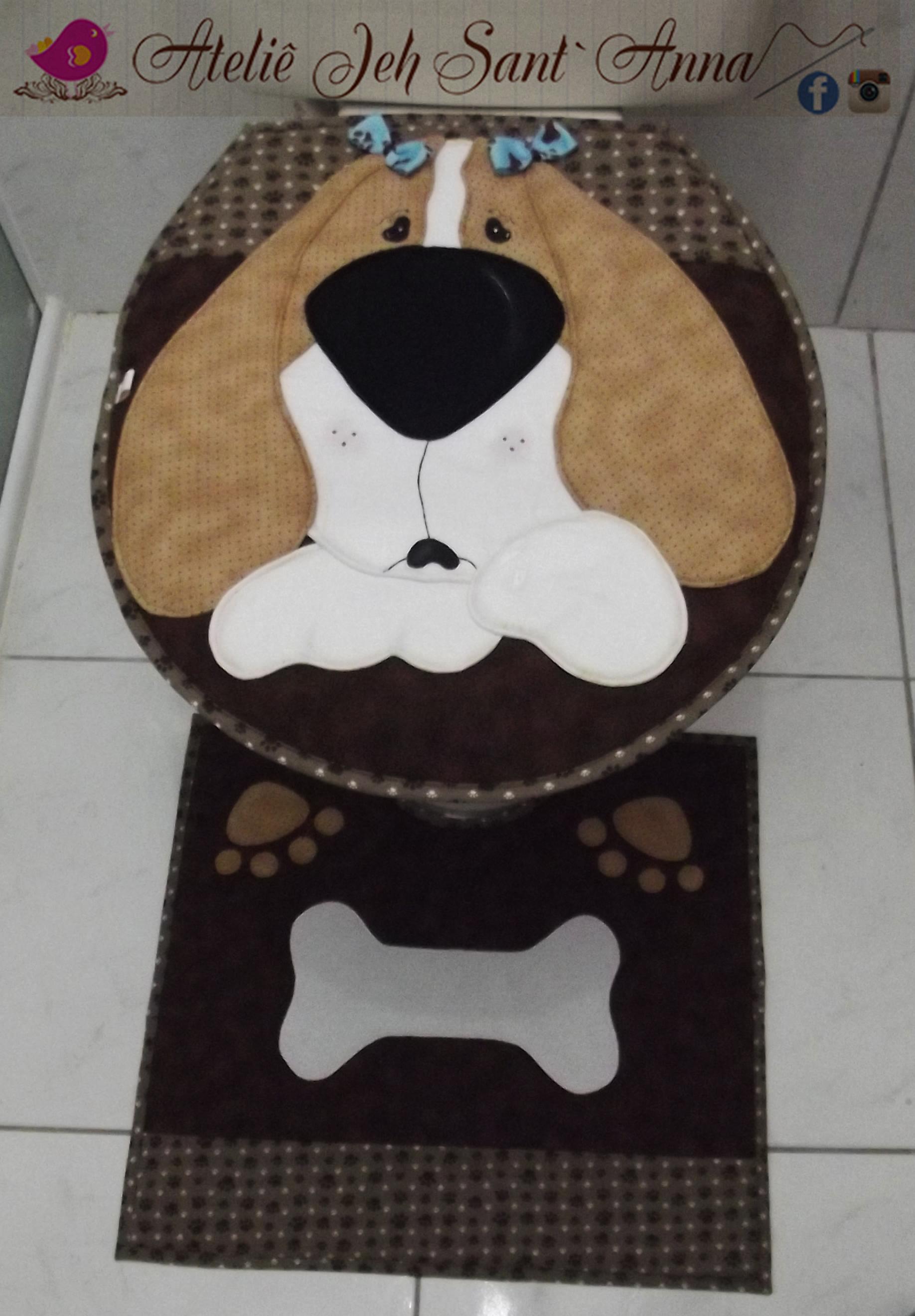 jogo de tapete cachorrinho tapete banheiro jogo de tapete cachorrinho  #836748 1836x2640 Banheiro De Cachorro Funciona