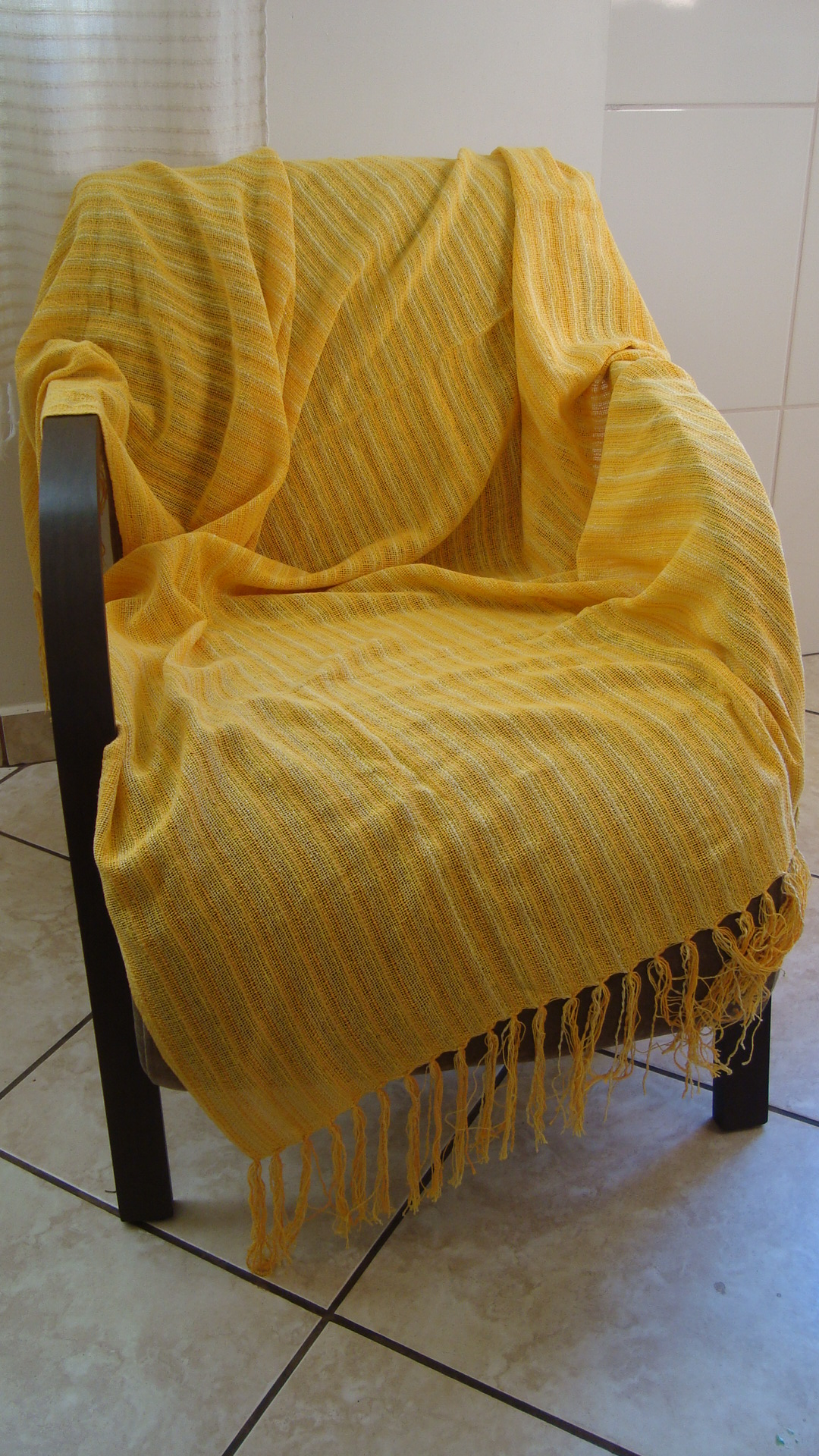 Manta para sofa amarelo ouro tear manual casa da sogra for Mantas sofa