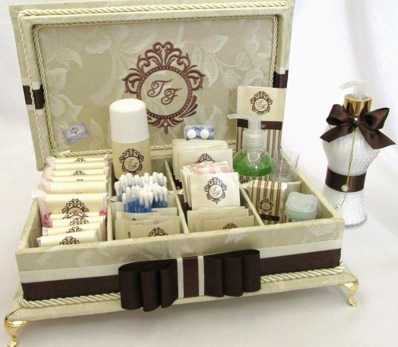 kit decoracao casamento:kit de toalete casamento com sabonete