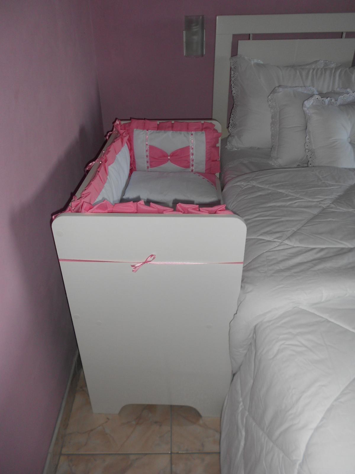Mini ber o mois s lateral de cama adriana da silva elo7 - Camas para bebe ...