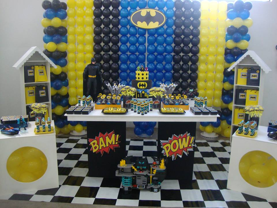 decoracao festa batman : decoracao festa batman:decoracao-batman-festa-batman