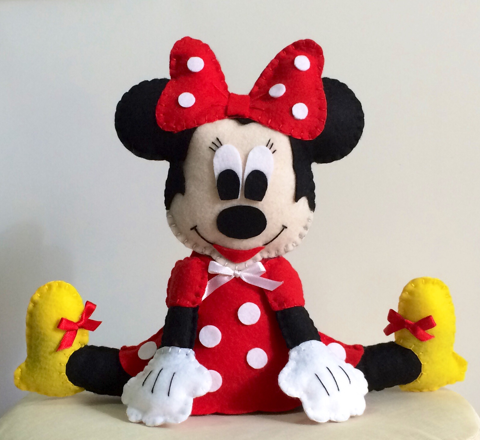 minnie sentada mickey boneca minnie sentada enfeite boneca minnie