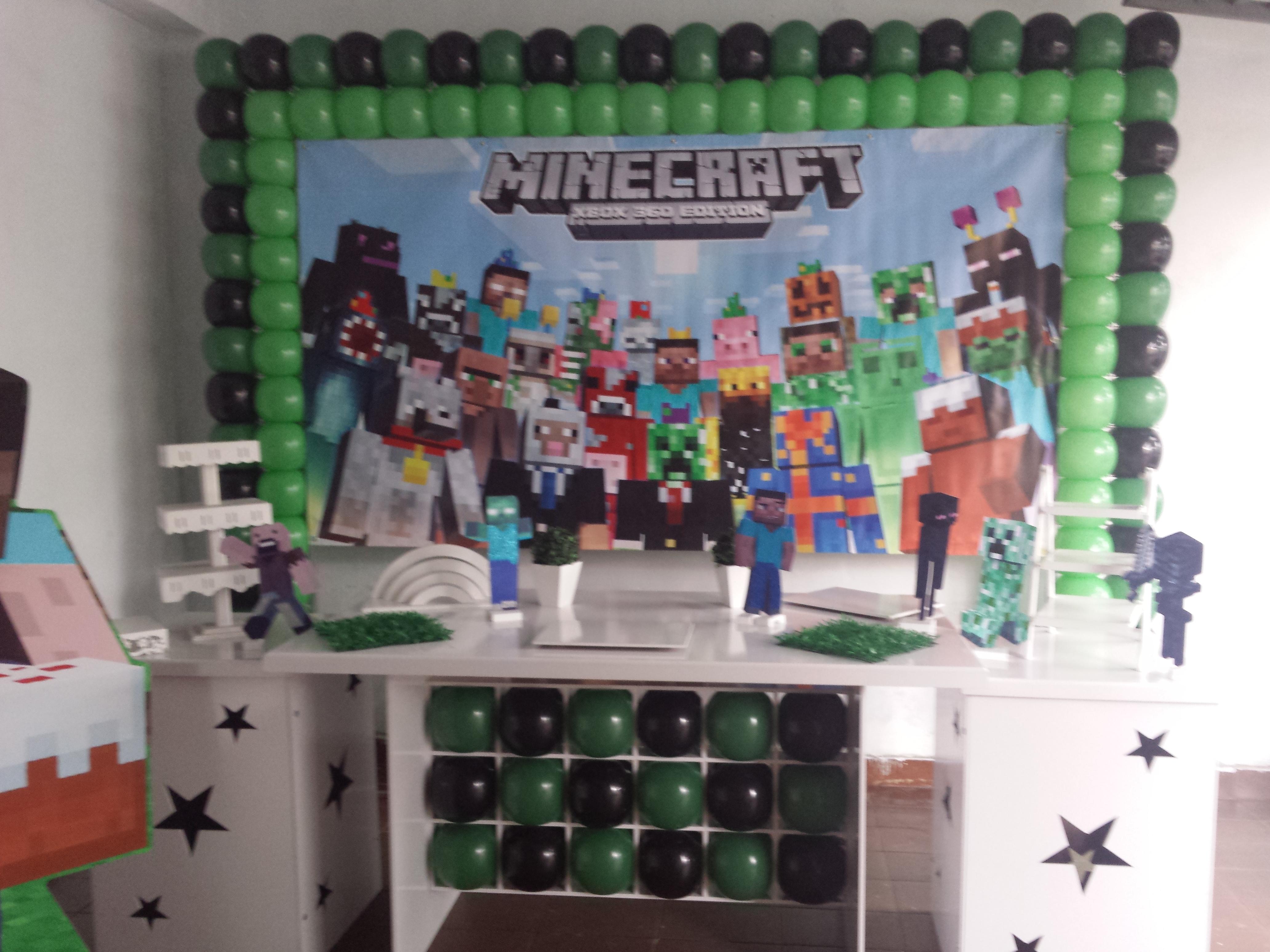 Decoração Clean Minecraft  Fli Flai Decorações  Elo7 -> Decoracao De Banheiro No Minecraft
