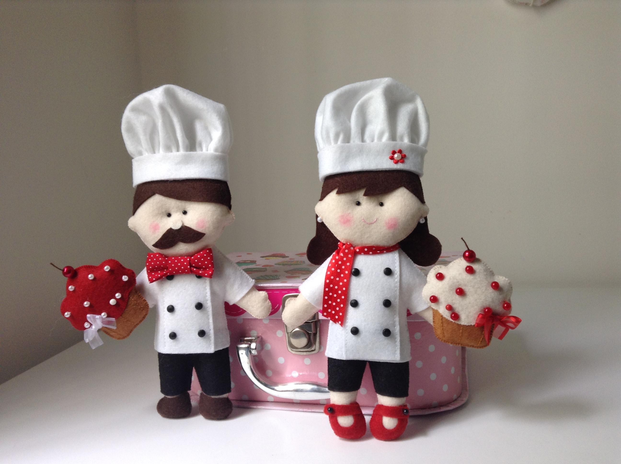 de cozinha de feltro chef de cozinha chef de cozinha de feltro chef de
