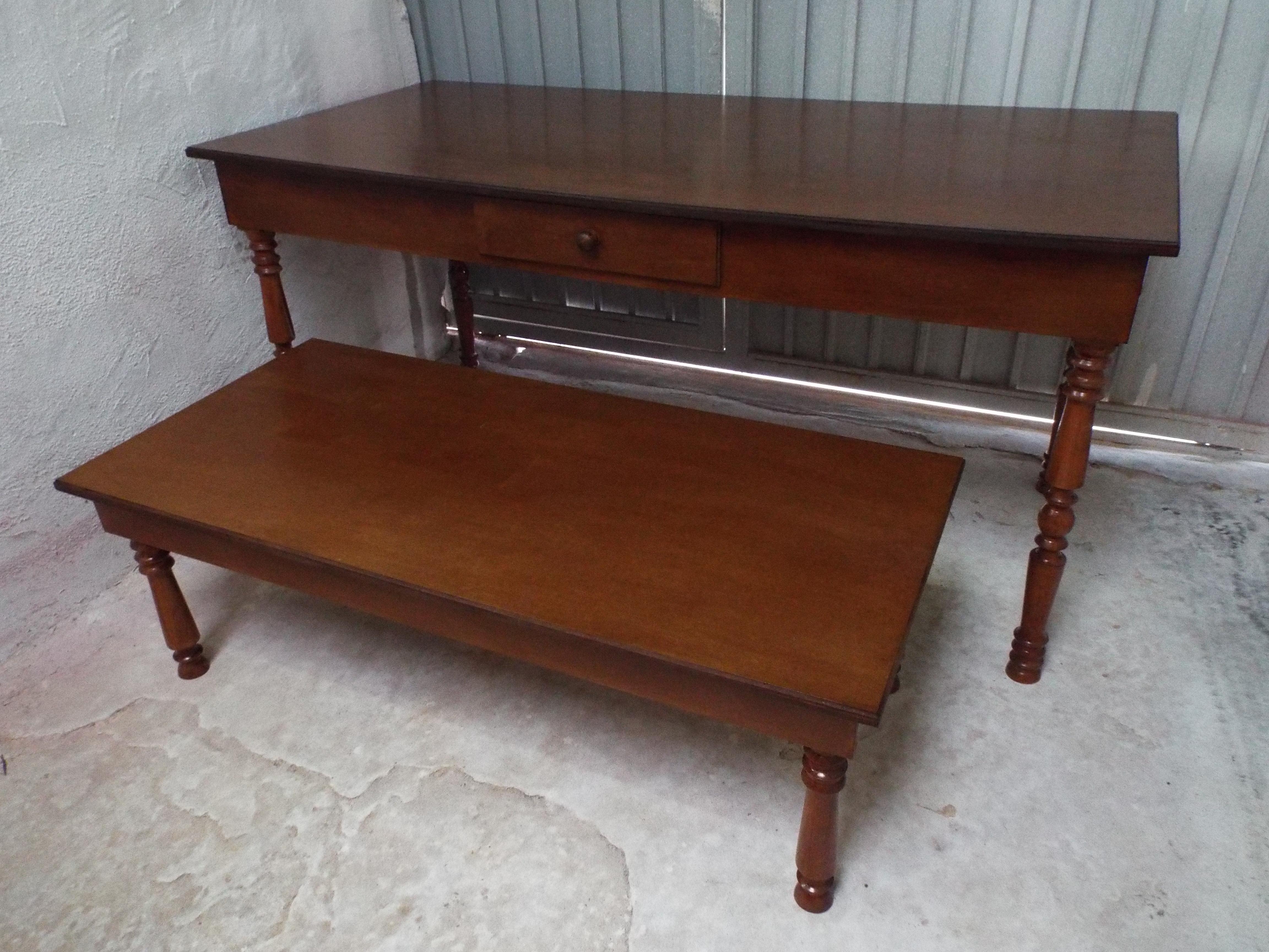 mesa provencal estilo rustico mesa rustica #5F3C2C 4608x3456