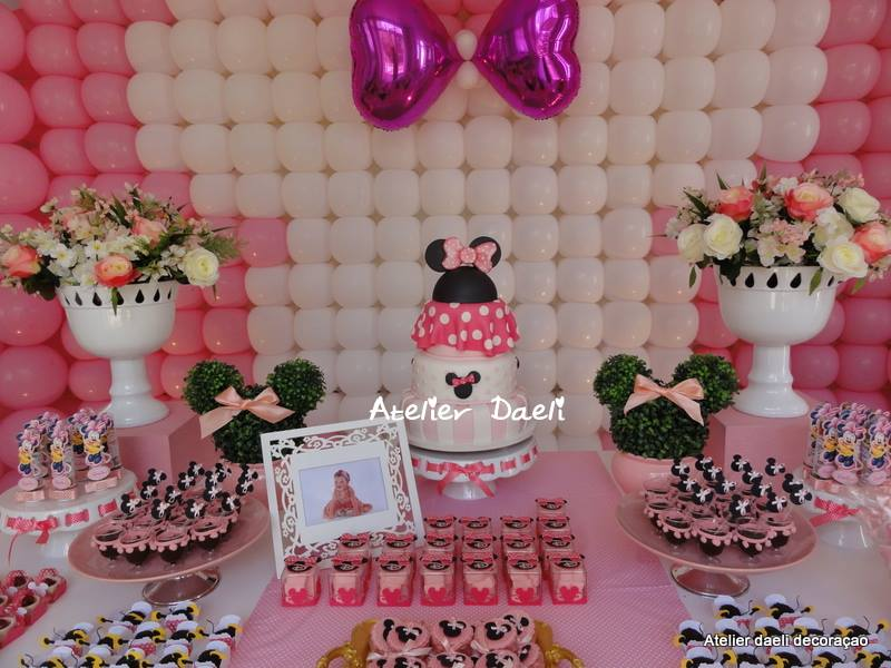 decoracao festa minnie rosa : decoracao festa minnie rosa: minnie rosa decoracao minnie rosa festa personalizada minnie rosa
