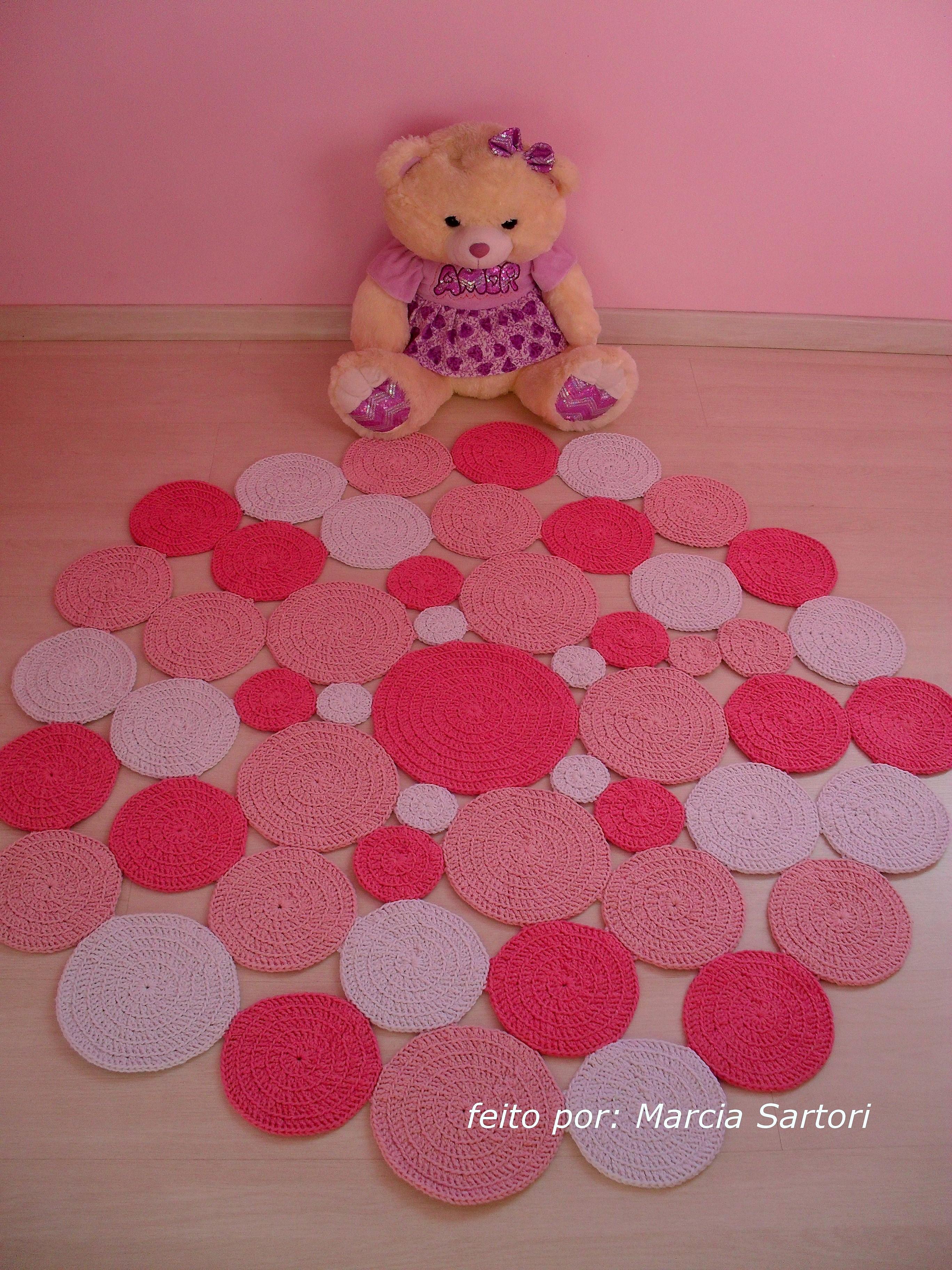 Tapete Rosa Bebe Redondo : tapete-de-bolas-redondo-tons-rosa-tapete-croche.jpg