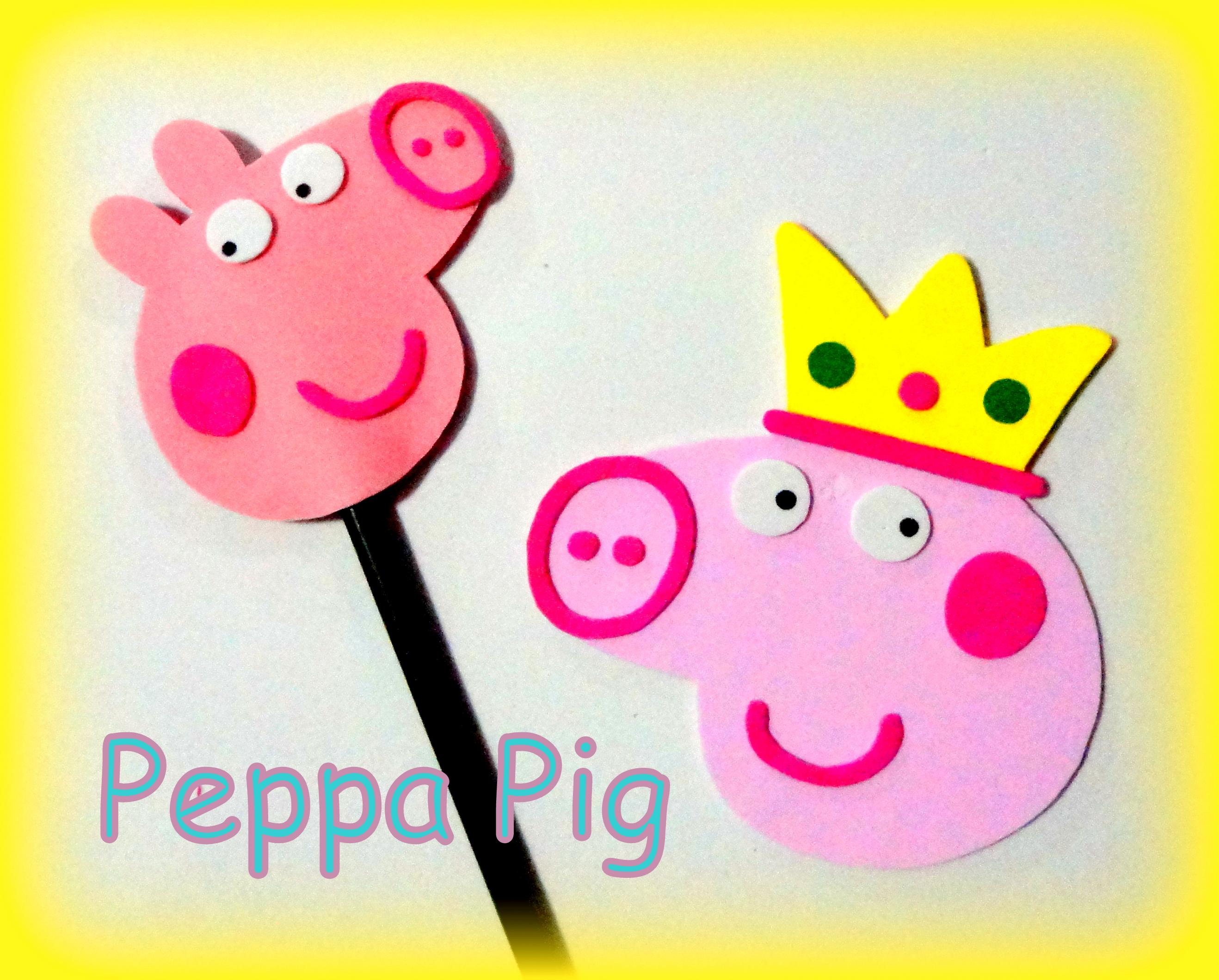 Ponteira Para Lápis Peppa Pig