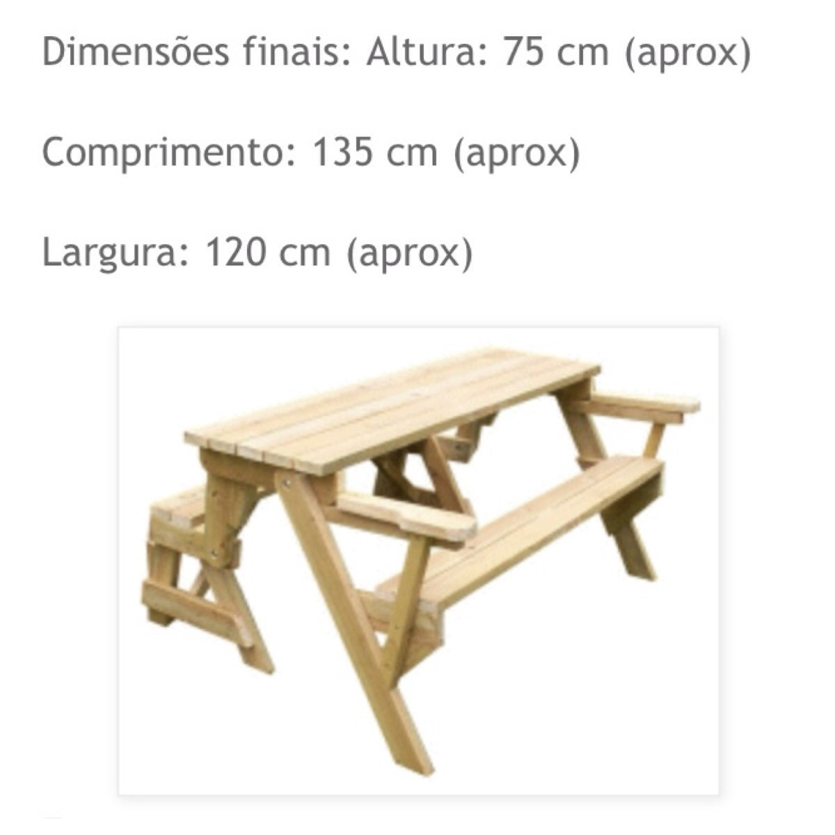 banco vira mesa picnic churrasco mesa #493918 1200x1200