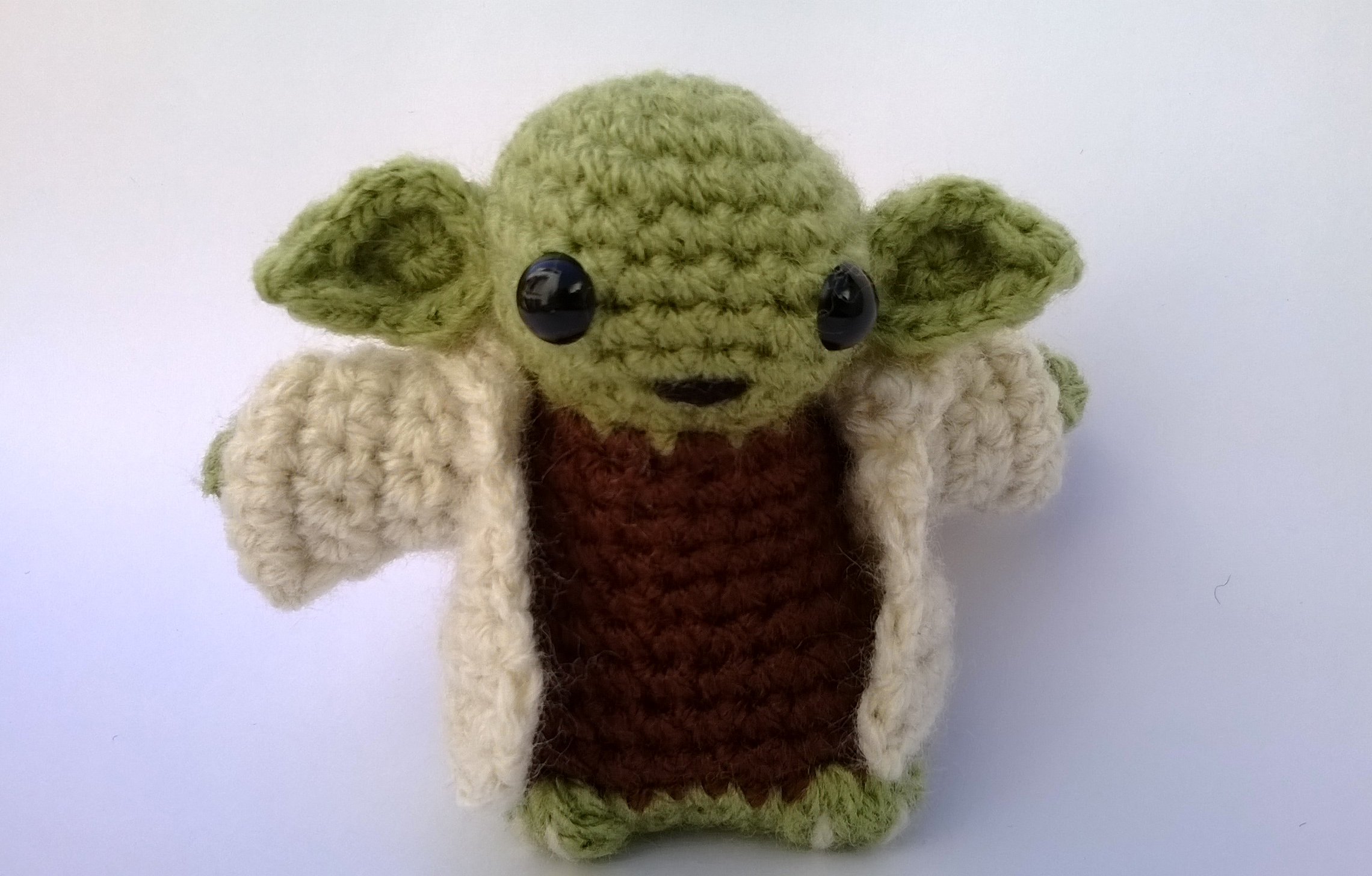 Yoda - Star Wars Amigurumi Mucau Amigurumi Elo7