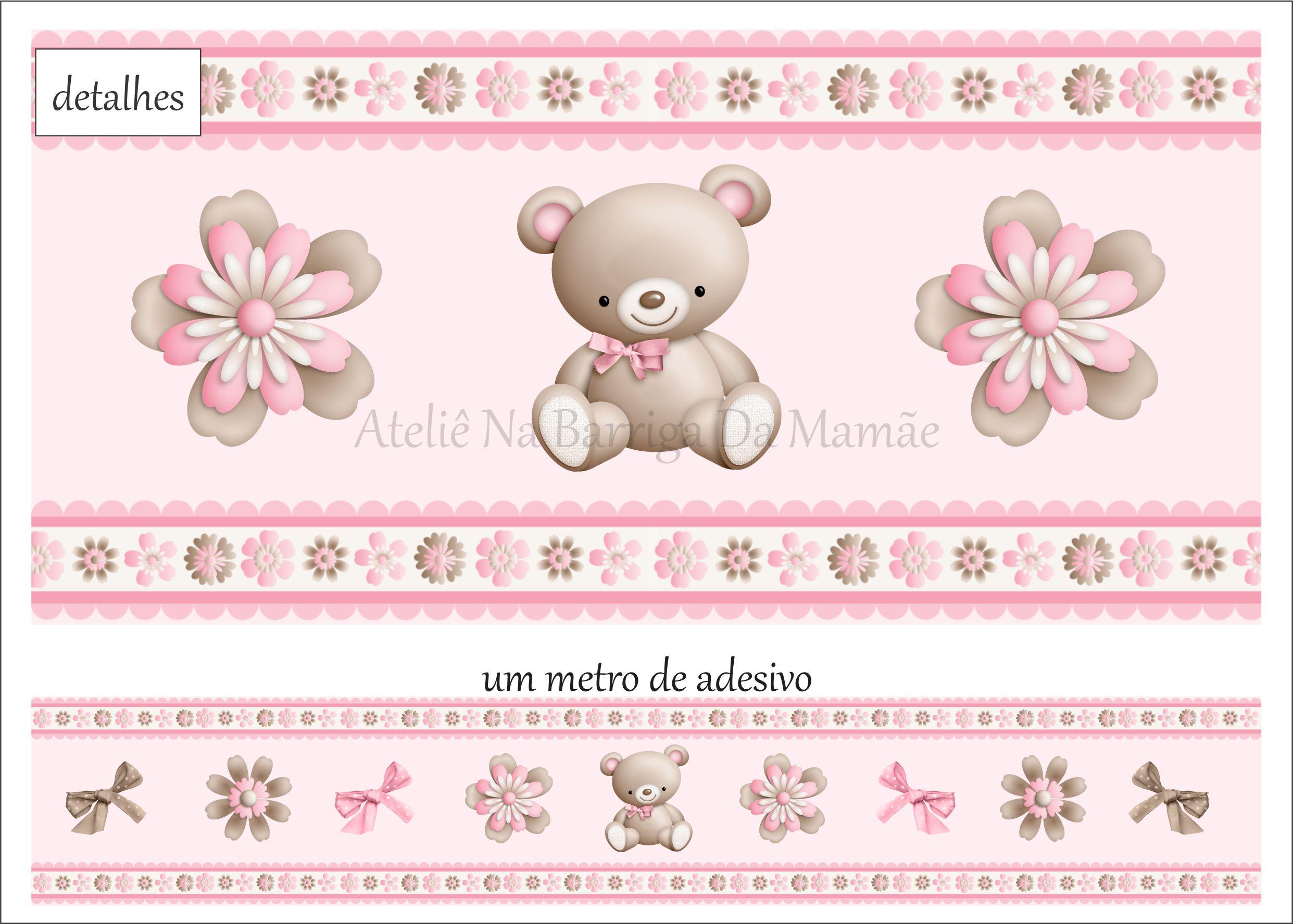 Faixa Para Quarto De Bebe De Ursinho ~ faixa de parede ursinho quarto de menina Car Tuning