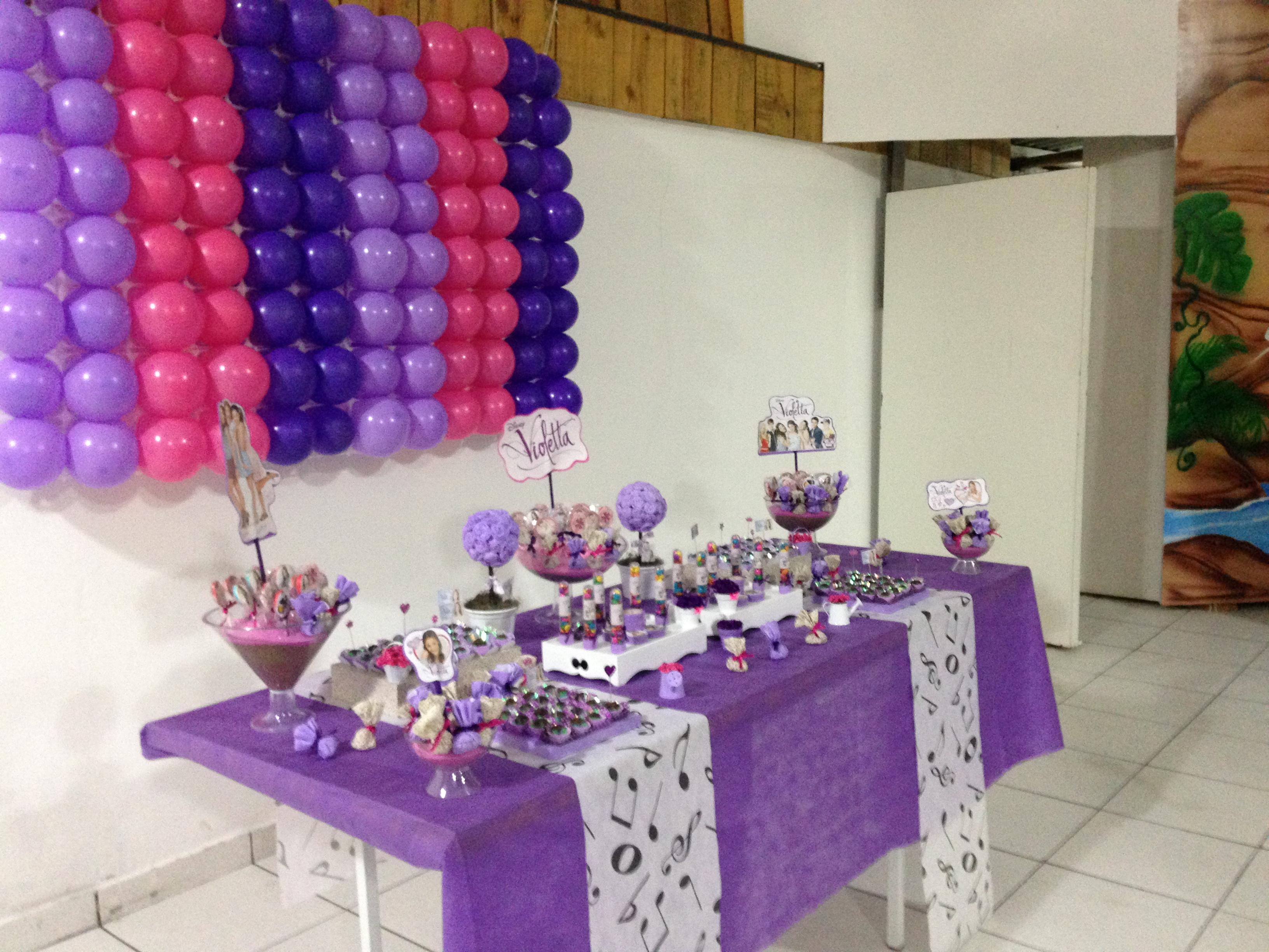 decoracao festa violeta:festa violetta disney festa violetta disney festa violetta disney