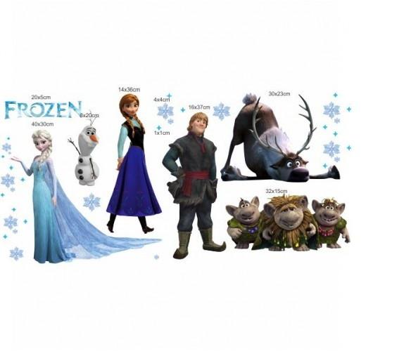 Aparador Walmart ~ Adesivo Frozen ADESIVOS COMPRAR E COLAR Elo7