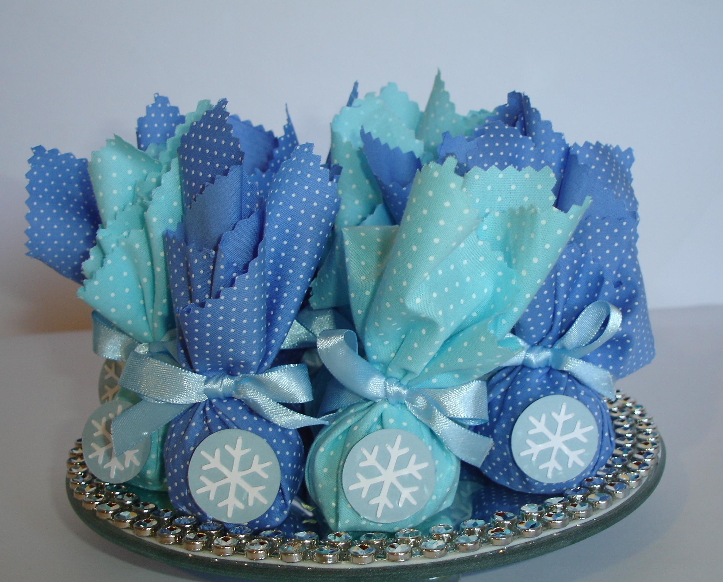 Bolsa De Tecido Frozen : Trouxinha em tecido frozen festas by cris elo