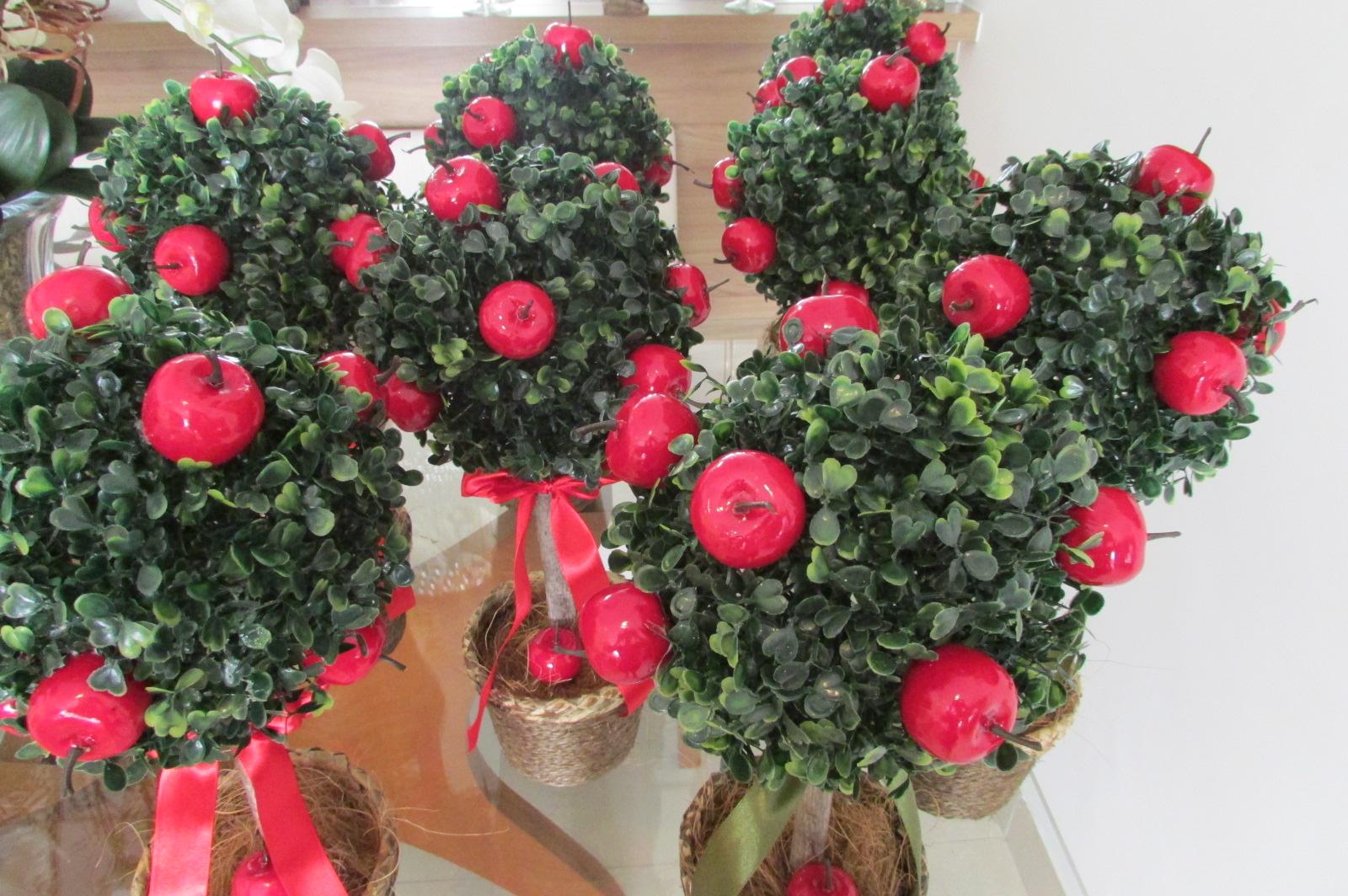 enfeites para jardim branca de neve:topiara-de-buchinho-vaso-rustico-decoracao-branca-de-neve