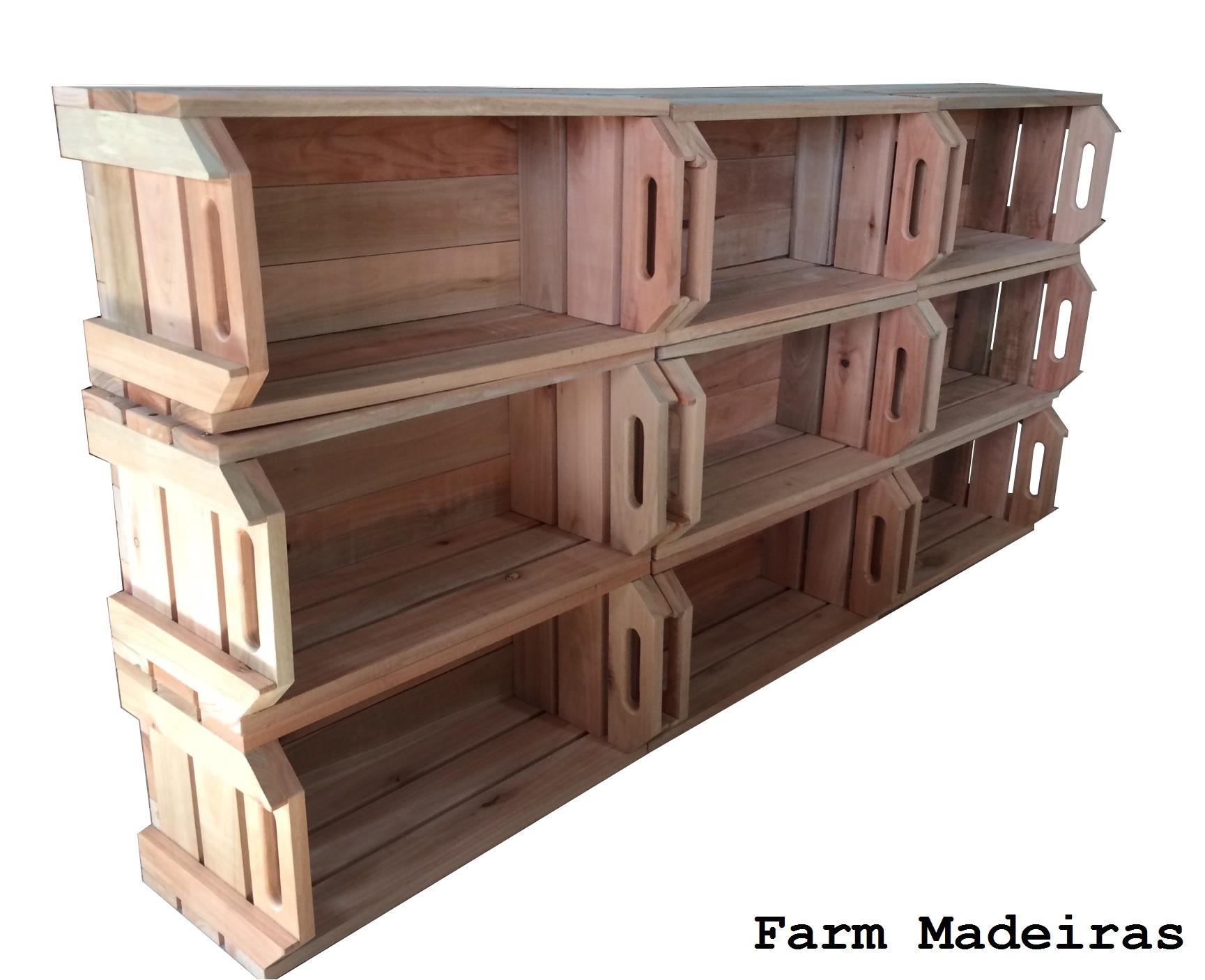 caixote caixa de feira novo em madeira fruta caixote caixa de feira  #915F3A 1729x1407