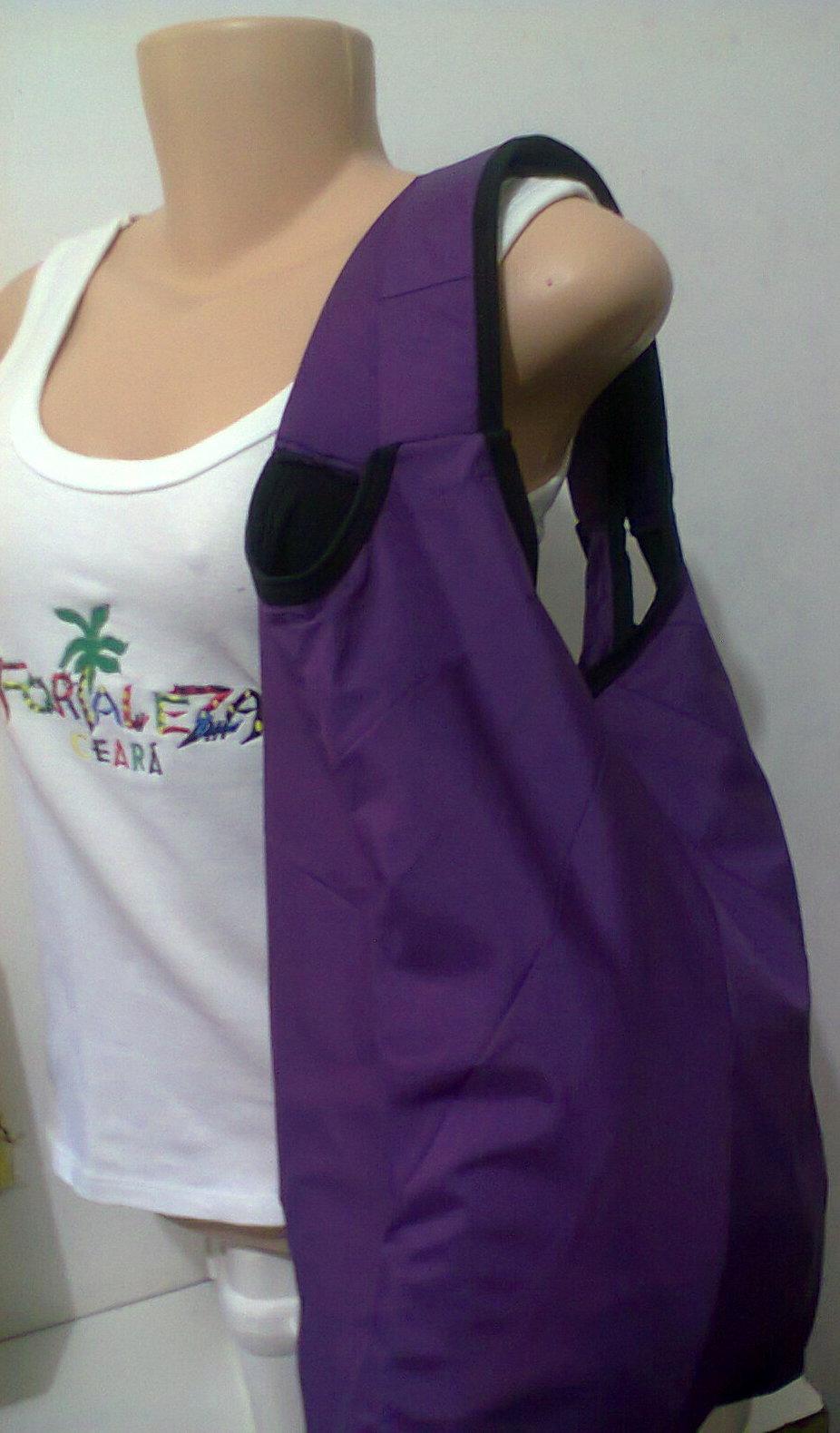 Bolsa De Tecido Forrada : Ecobag de nylom forrada com oxford sol wear ltda elo