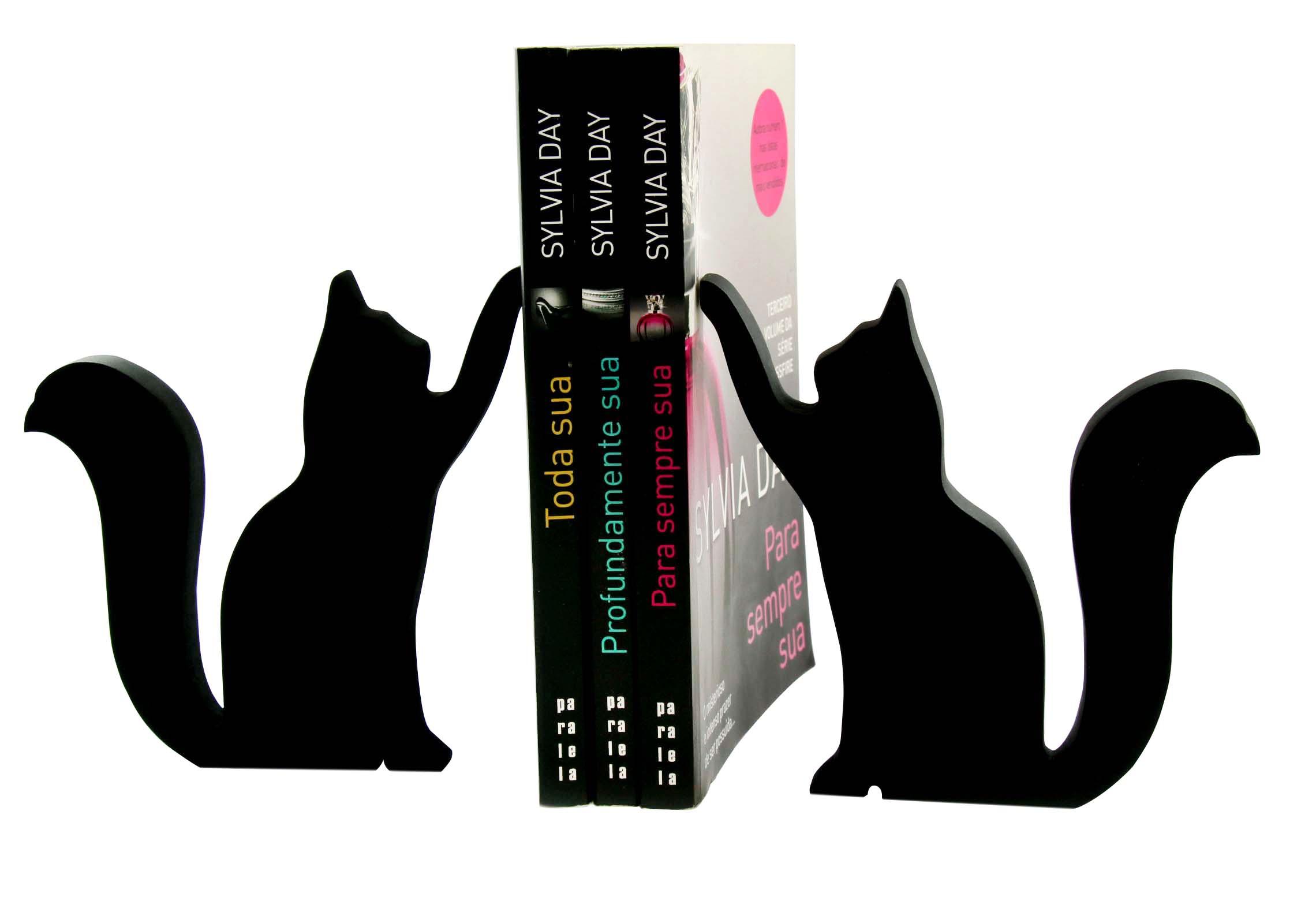 Adesivo Boteco Preto E Branco ~ Aparador de livros Gato Frete Grátis Lefranz decor Elo7