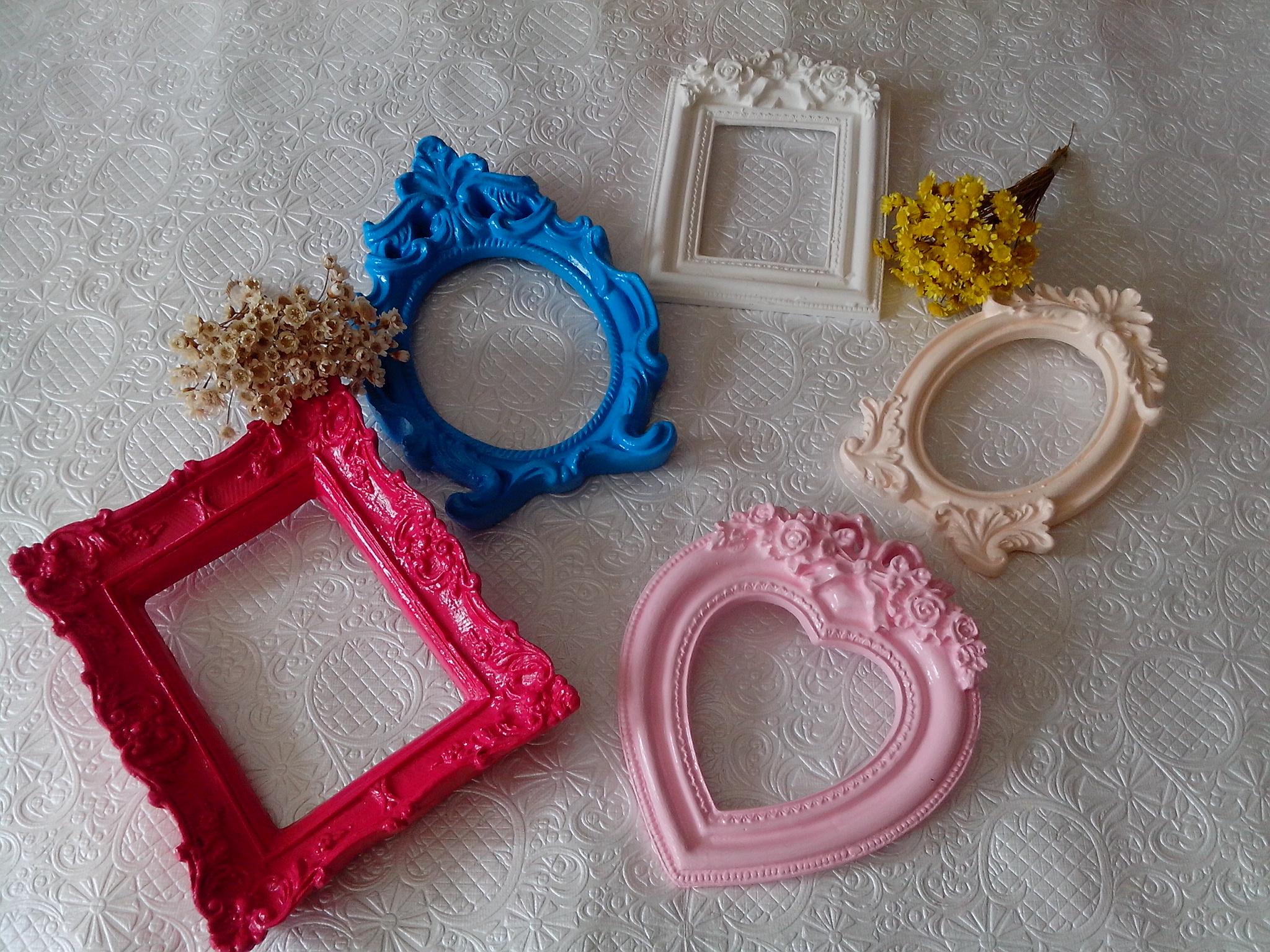 Jogo de molduras decorativas divinaideia elo7 - Fotos decorativas ...