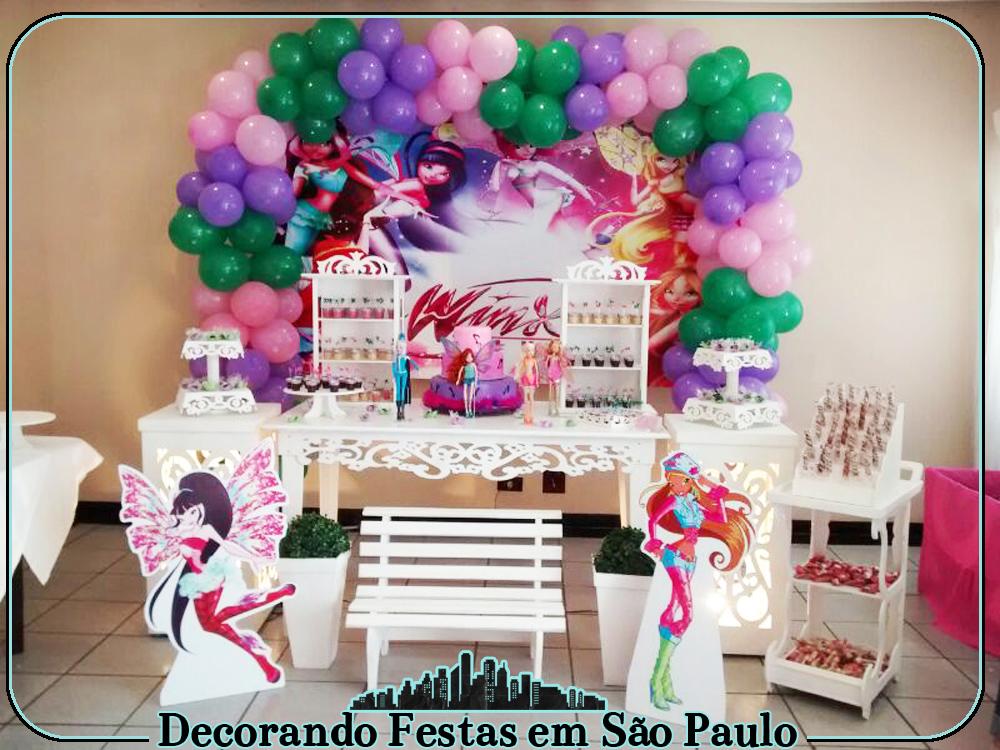 decoracao festa winx:decoracao-clean-provencal-mesa-das-winx-festa-infantil-das-winx