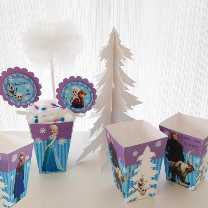 Frozen Enfeite de Mesa Personalizado Frozen Enfeite de Mesa