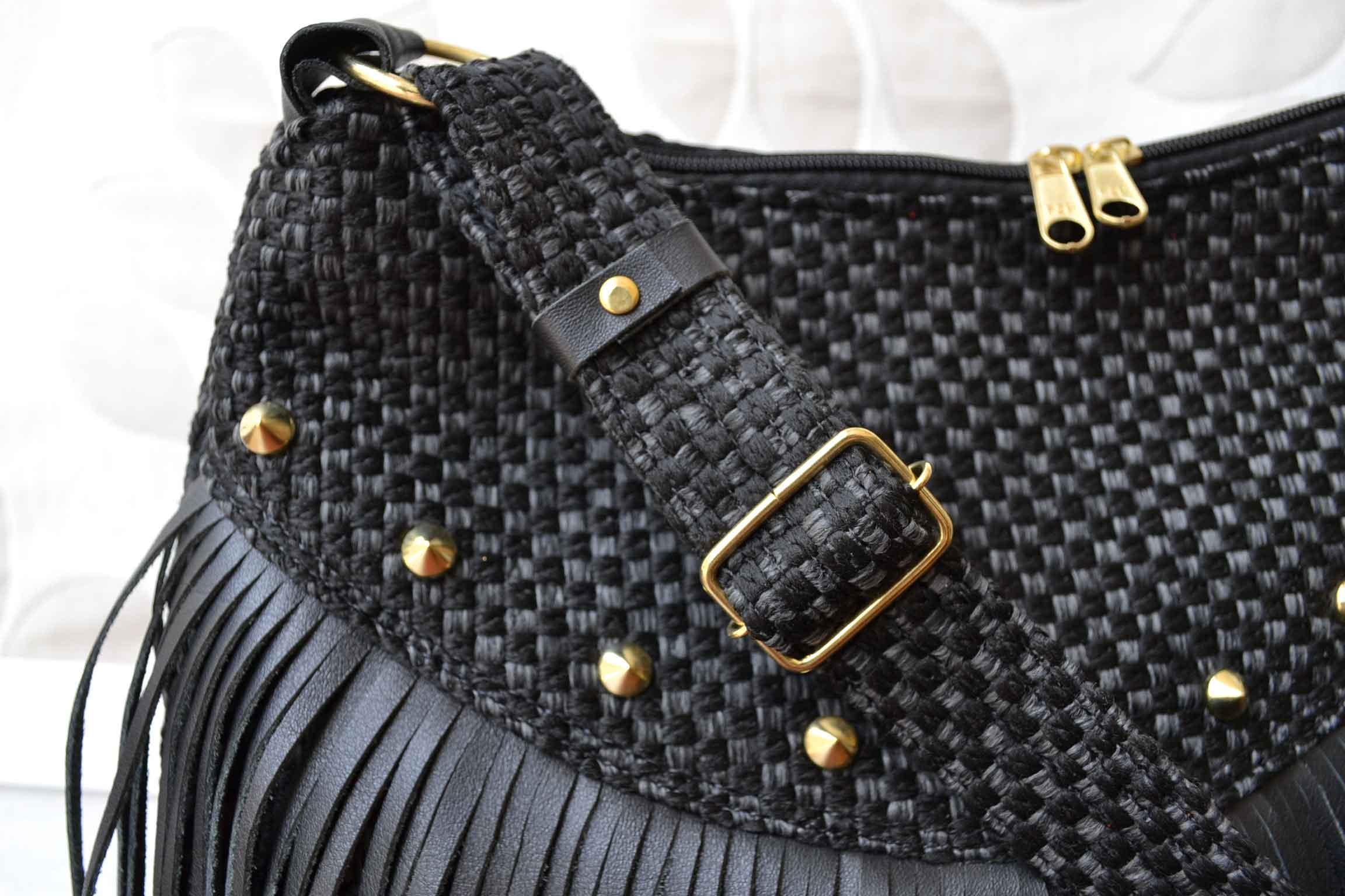 Bolsa De Franja Pequena Vermelha : Bolsa transversal com franjas amarello ouro j?ias elo
