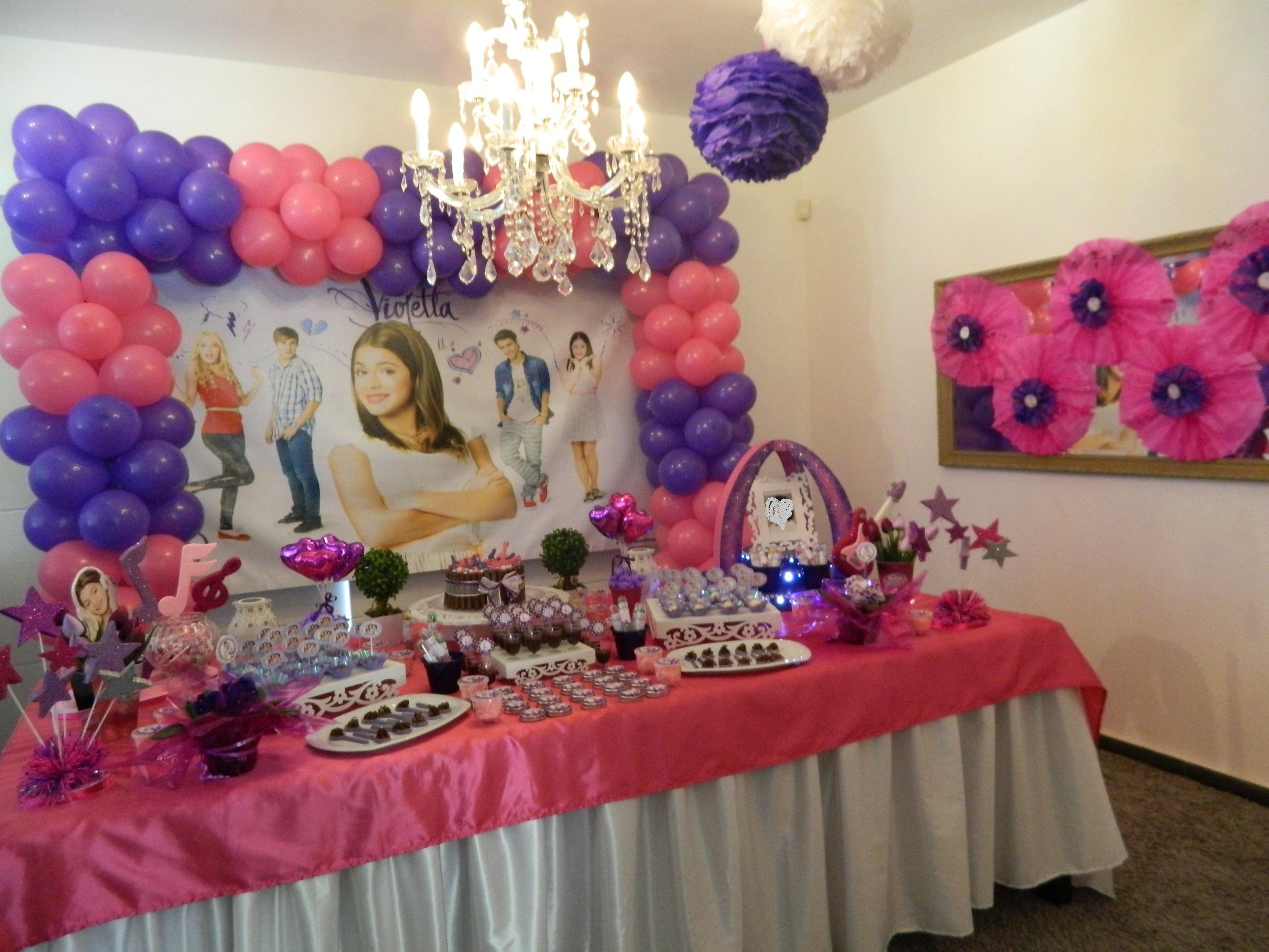 decoracao festa violeta: decoracao violetta decoracao violetta disney festa violetta decoracao
